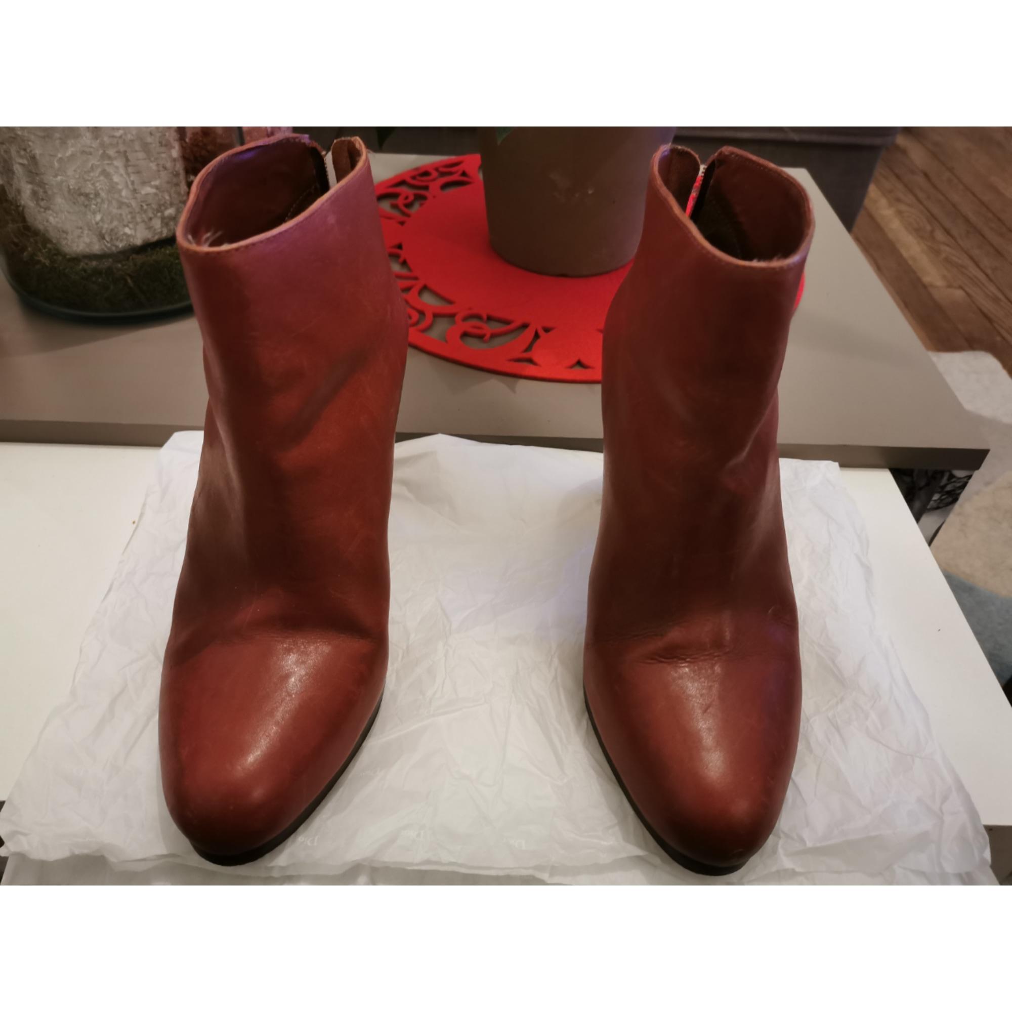 Bottines & low boots à talons KOOKAI Marron