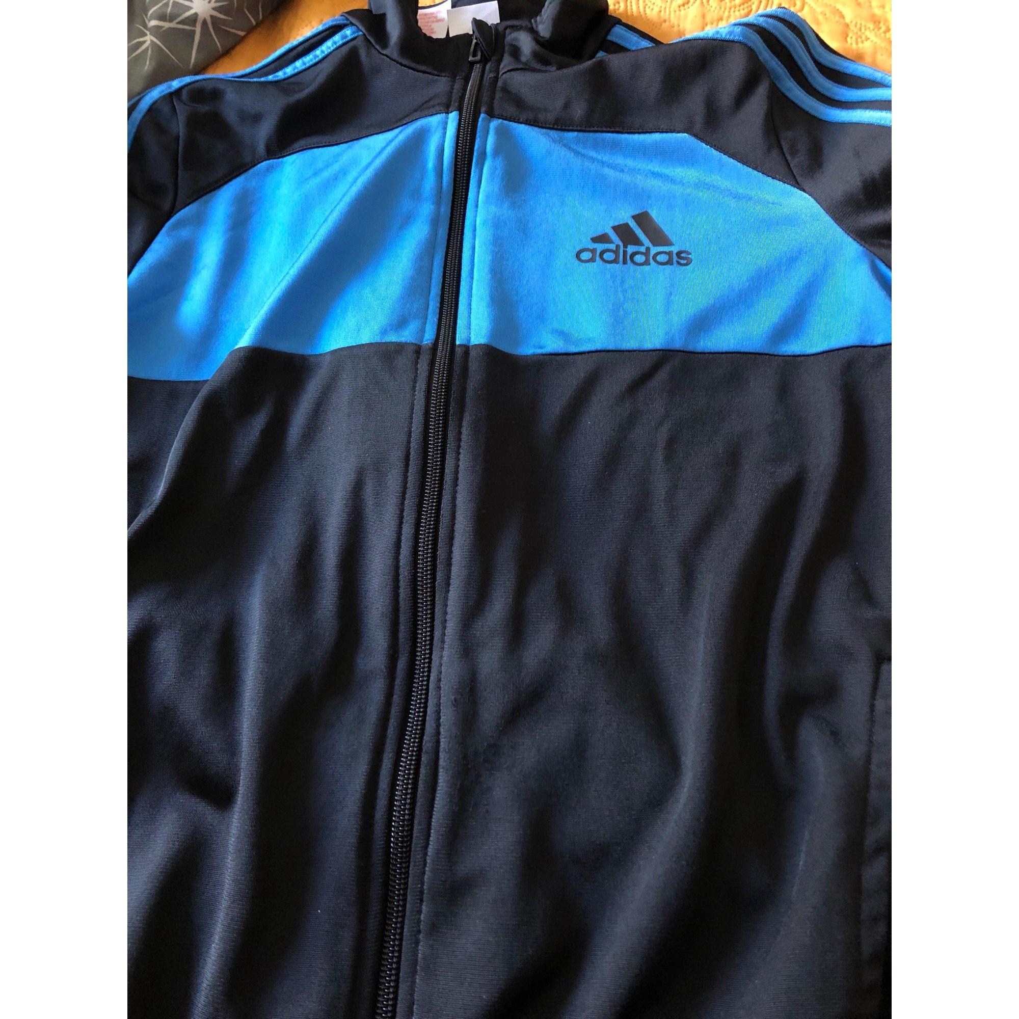 Ensemble jogging ADIDAS Bleu, bleu marine, bleu turquoise