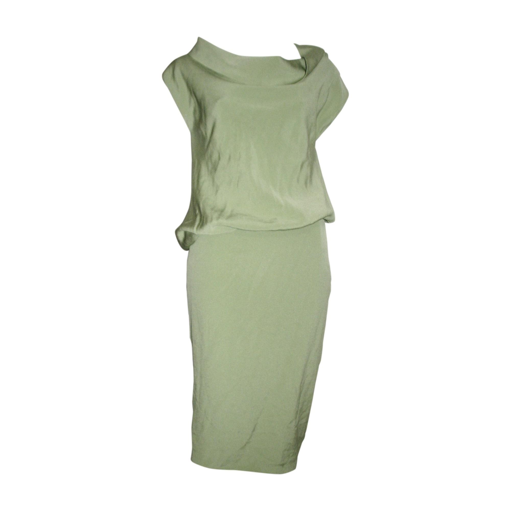 Robe mi-longue ESCADA Vert