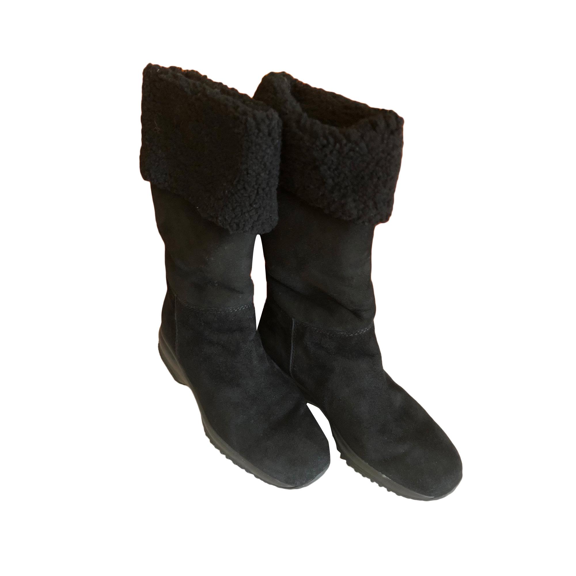 Bottines & low boots plates HOGAN Noir