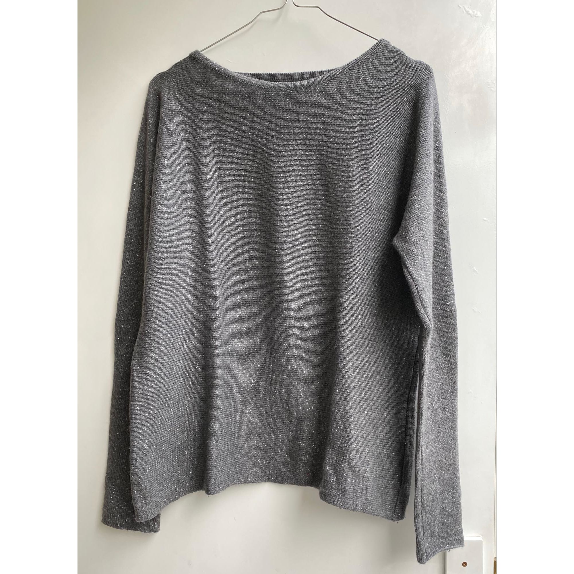 Pull CAROLL Gris, anthracite