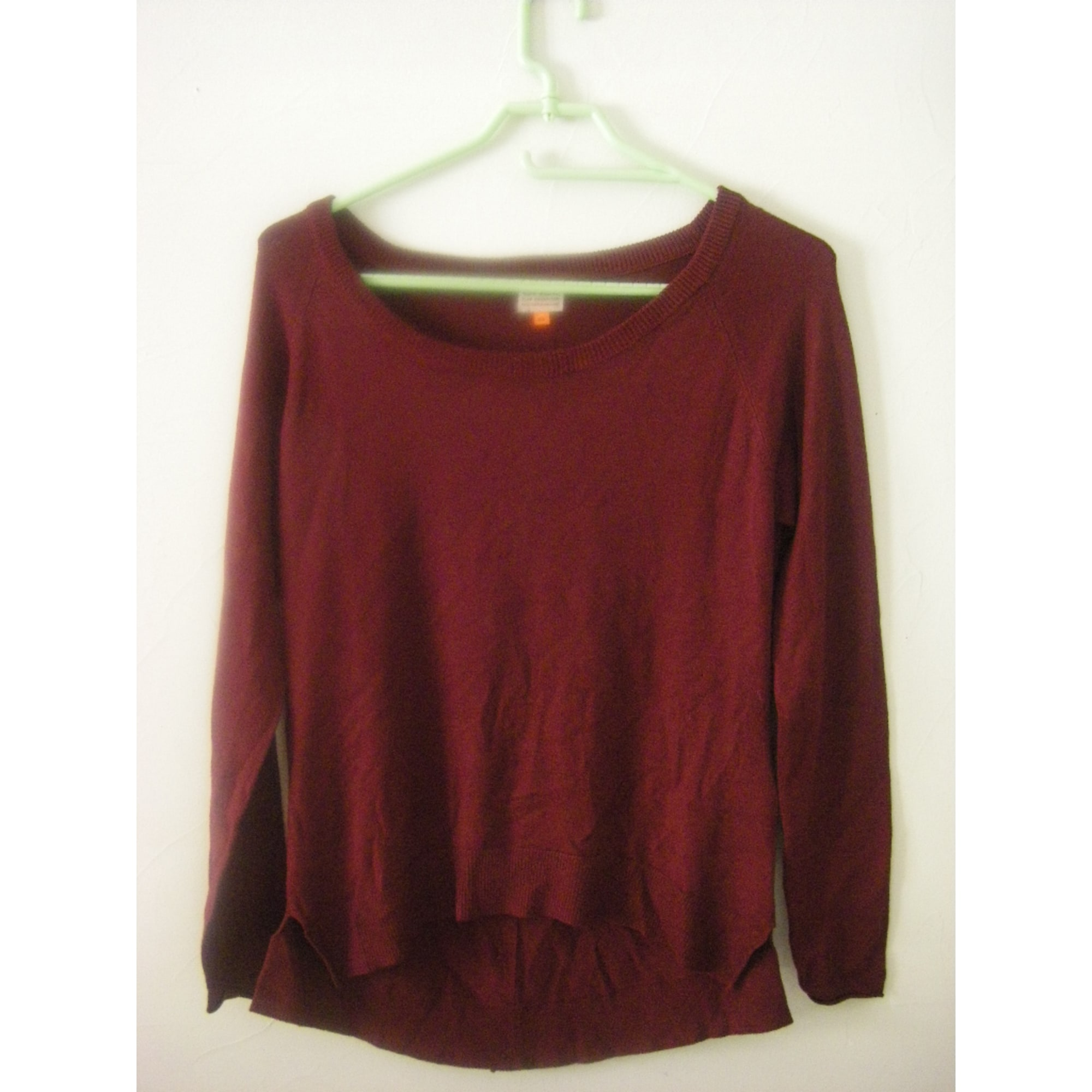 Pull ONLY Rouge, bordeaux