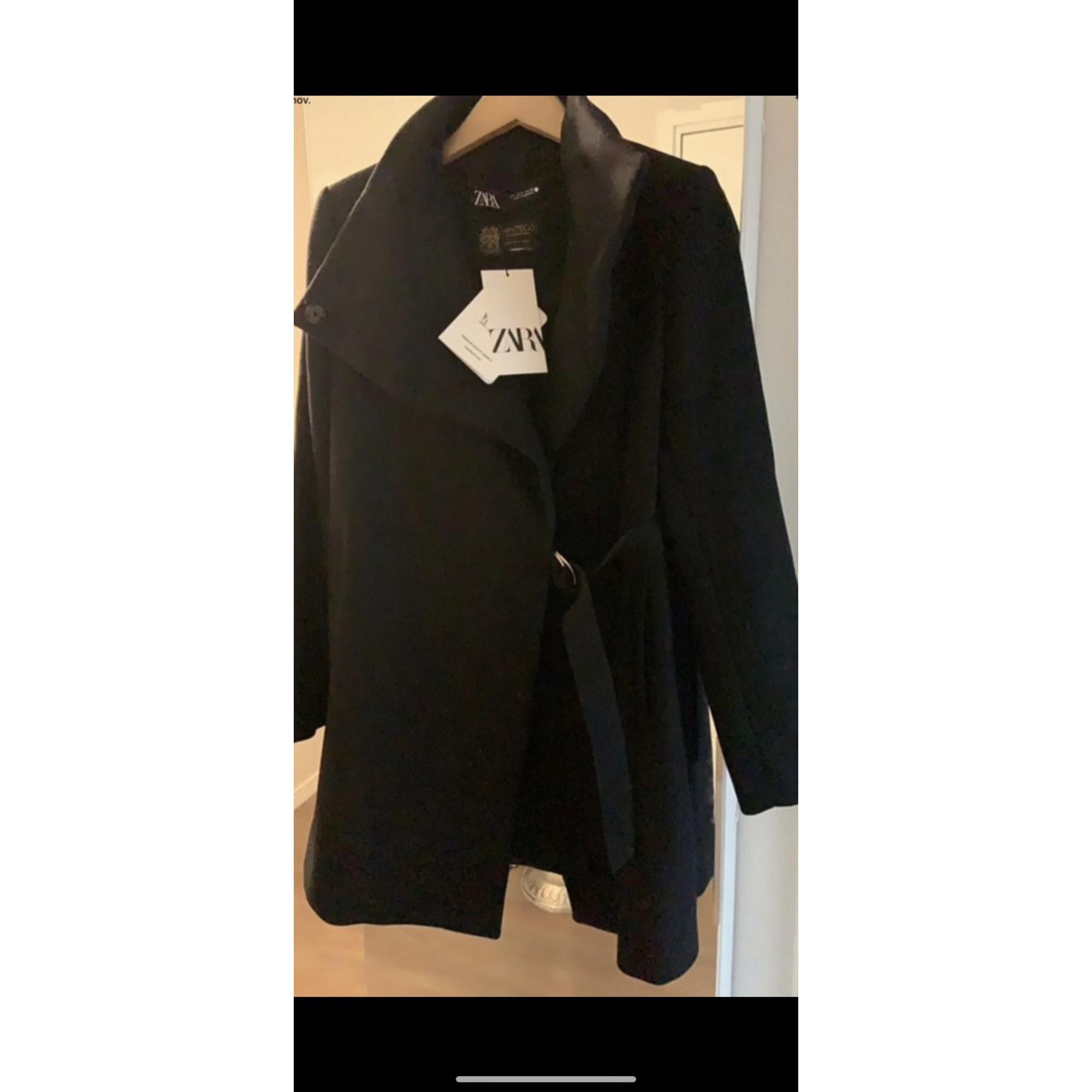 Manteau ZARA 36 (S, T1) noir 9790330