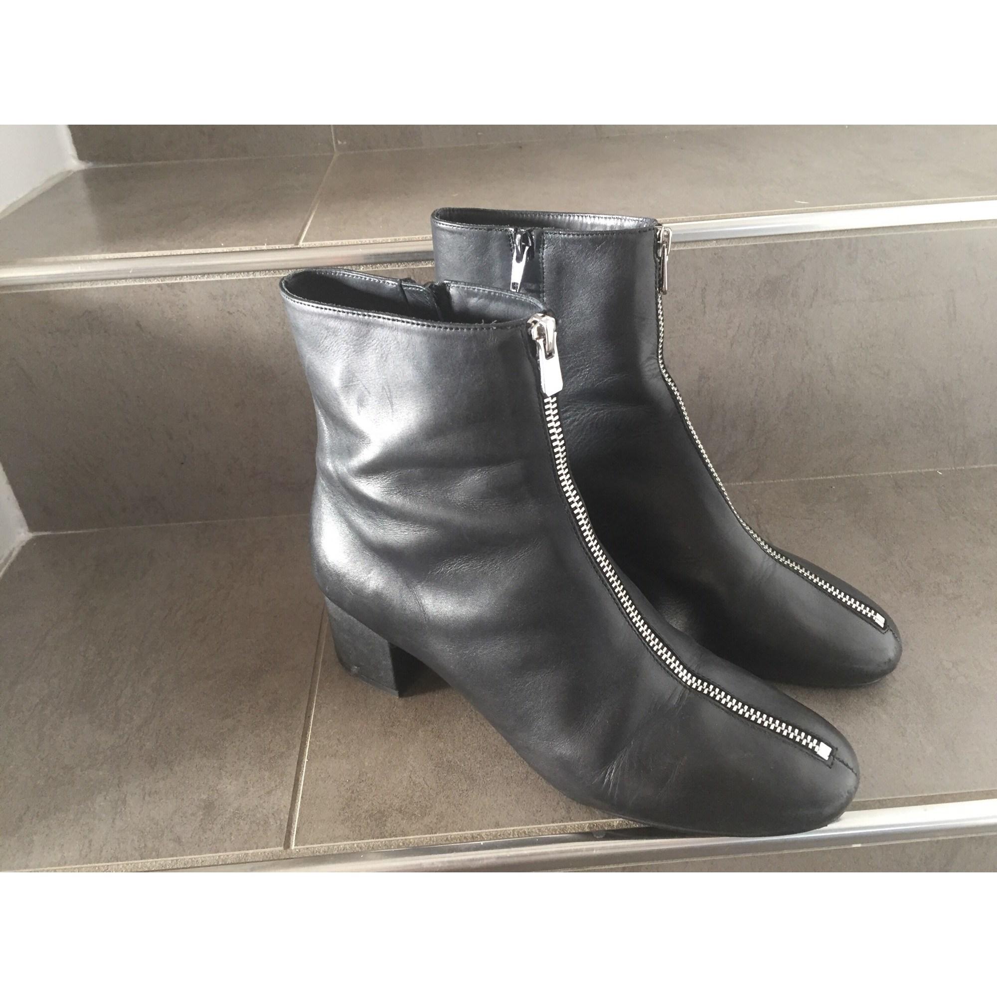 Bottines & low boots à talons & OTHER STORIES Noir