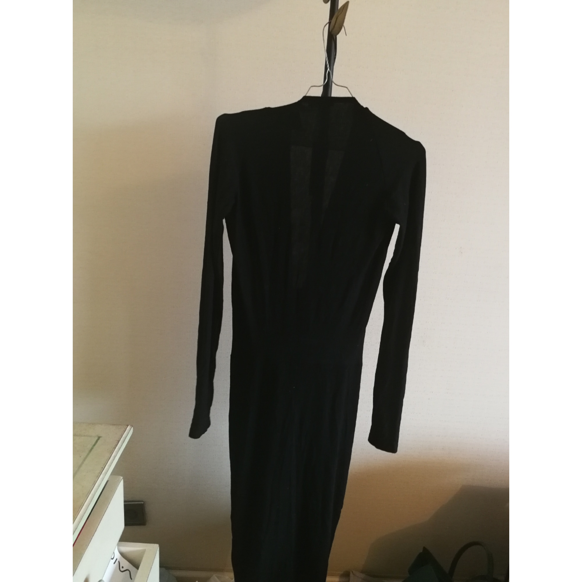 Robe longue DONNA KARAN Noir