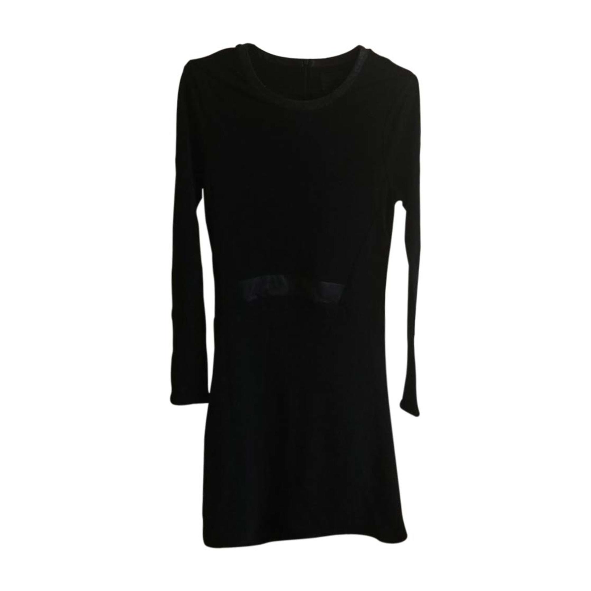 Robe mi-longue KARL LAGERFELD Noir