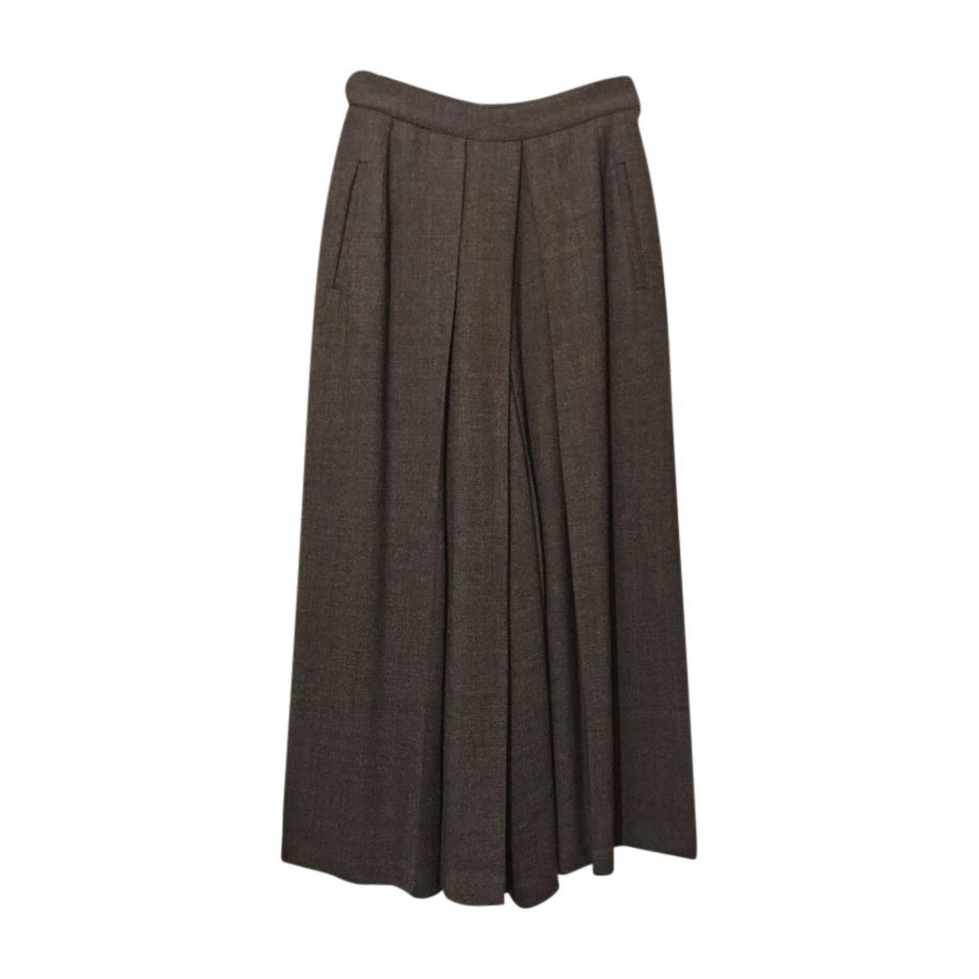 Pantalon large KENZO Gris, anthracite
