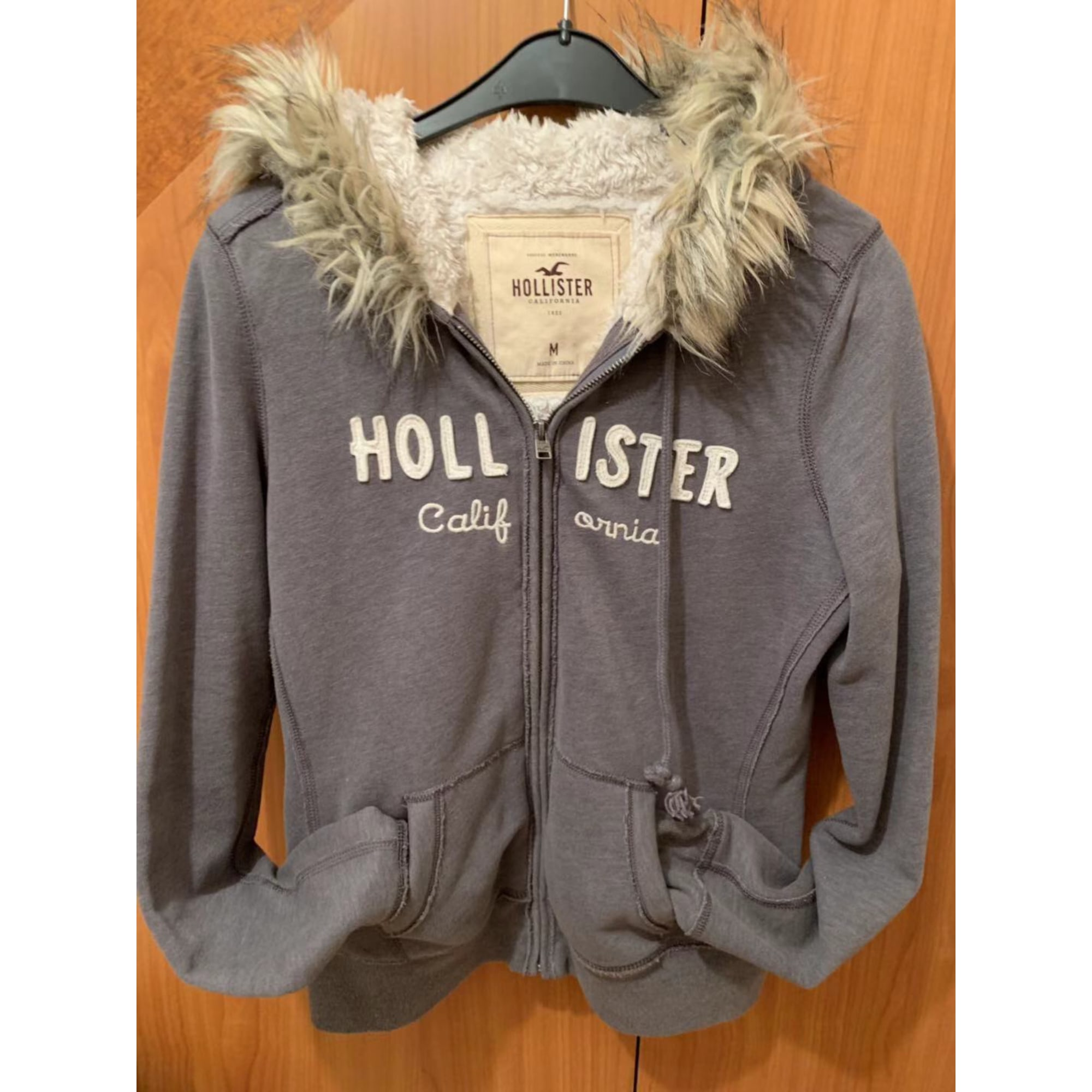 Gilet, cardigan HOLLISTER Gris, anthracite
