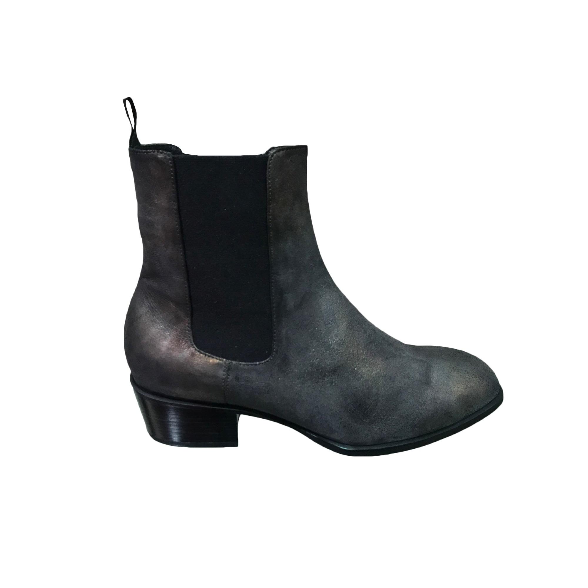 Bottines & low boots à talons LOLA CRUZ Doré, bronze, cuivre