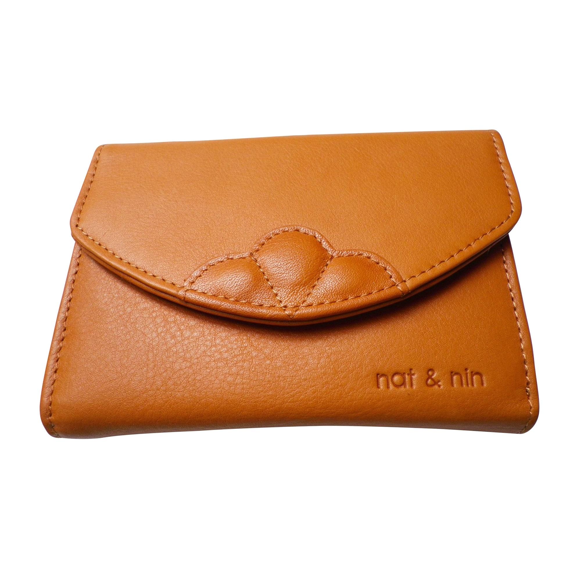 Portefeuille NAT & NIN Orange