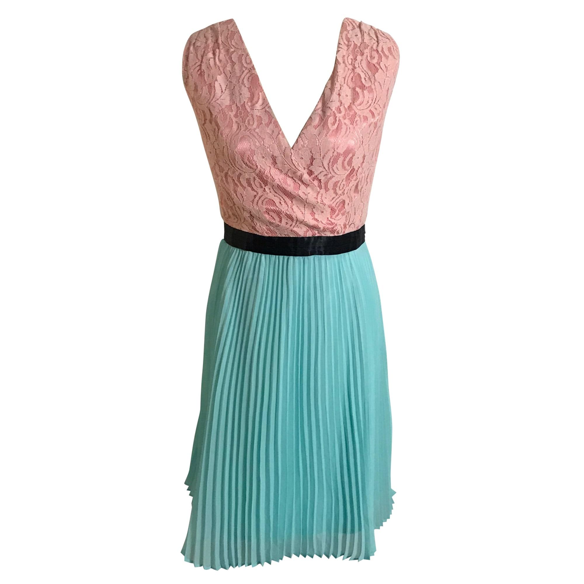 Midi Dress ALAIN MANOUKIAN Blue, navy, turquoise
