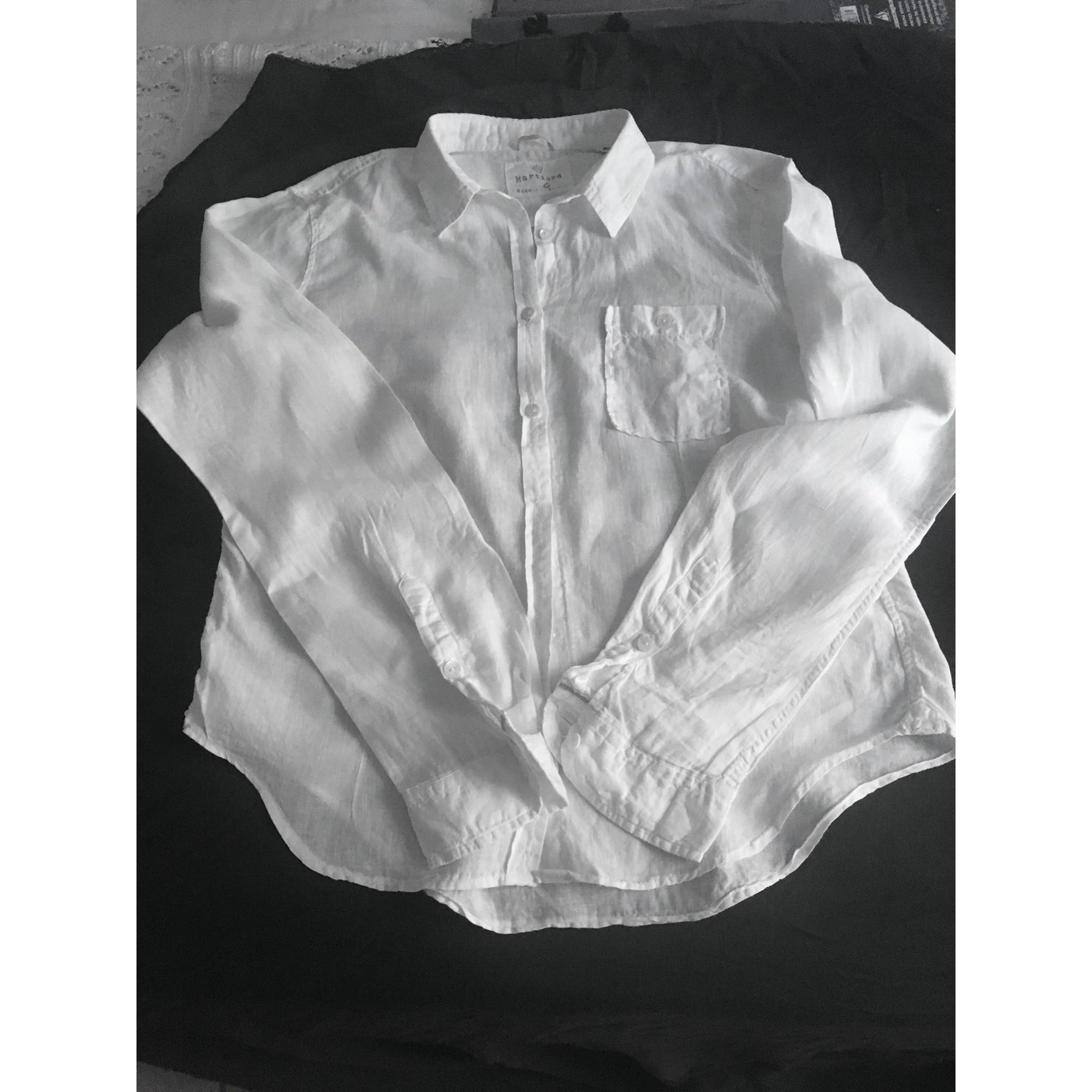 Chemise HARTFORD Blanc, blanc cassé, écru