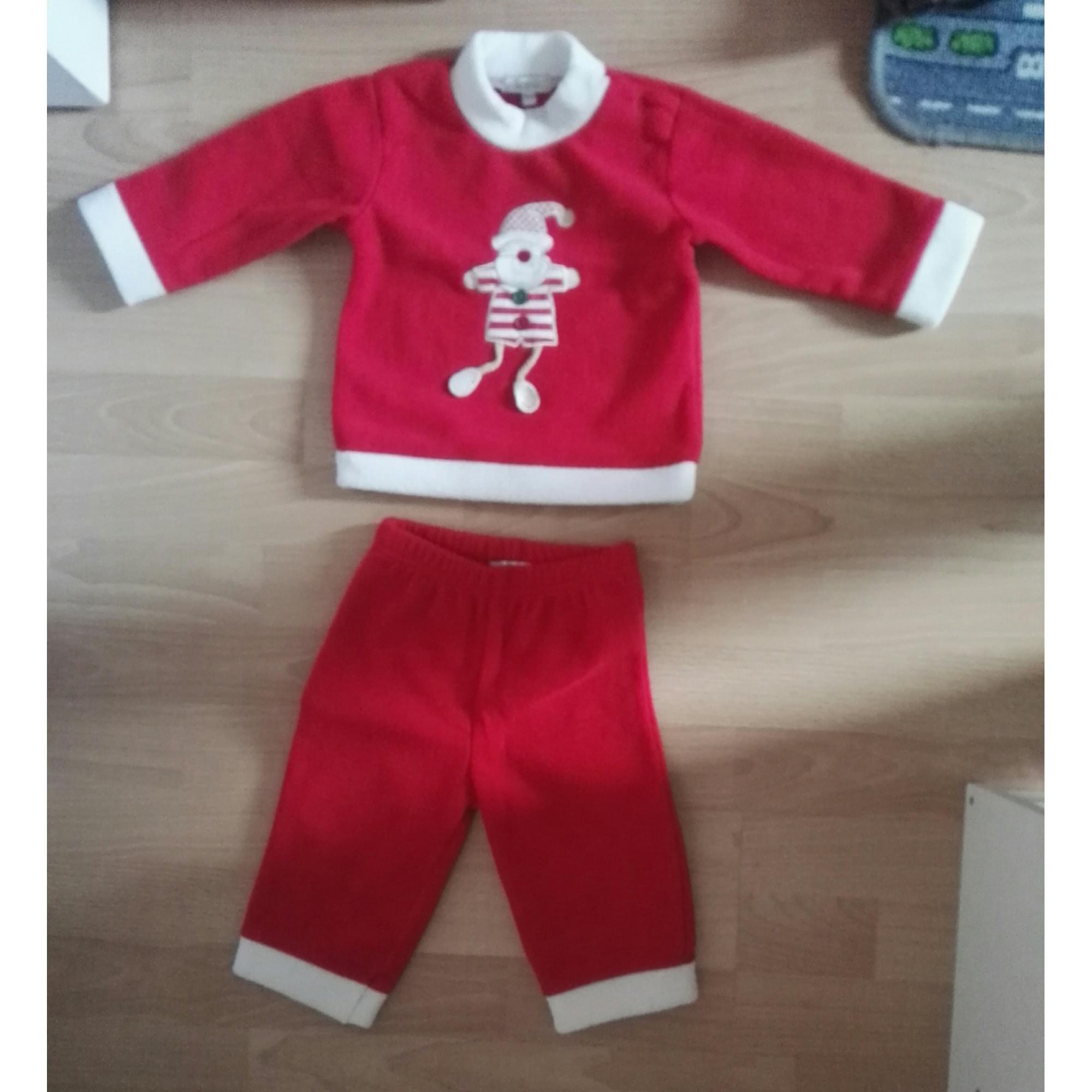 Pyjama IN EXTENSO Rouge, bordeaux