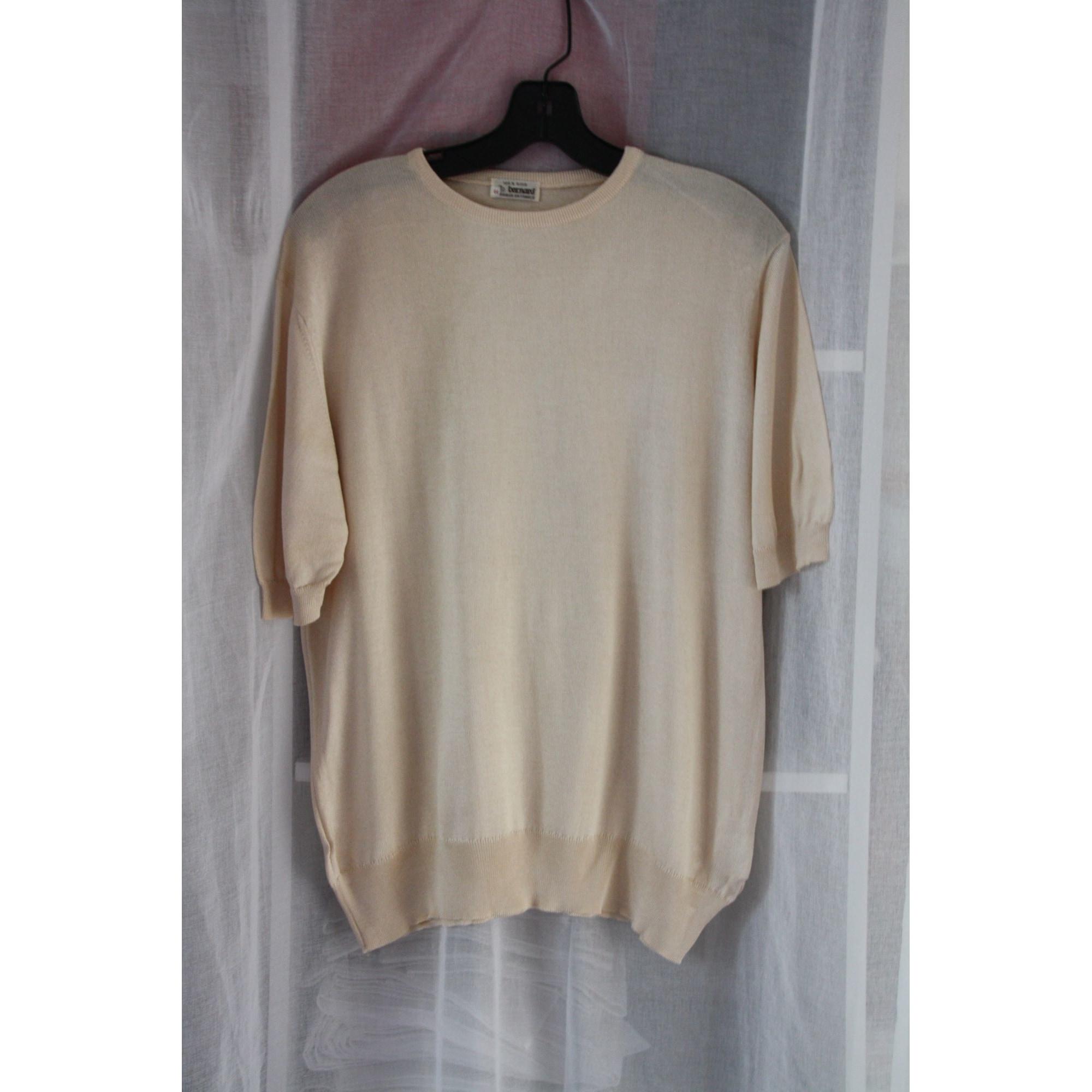 Top, tee-shirt BERNARD Blanc, blanc cassé, écru
