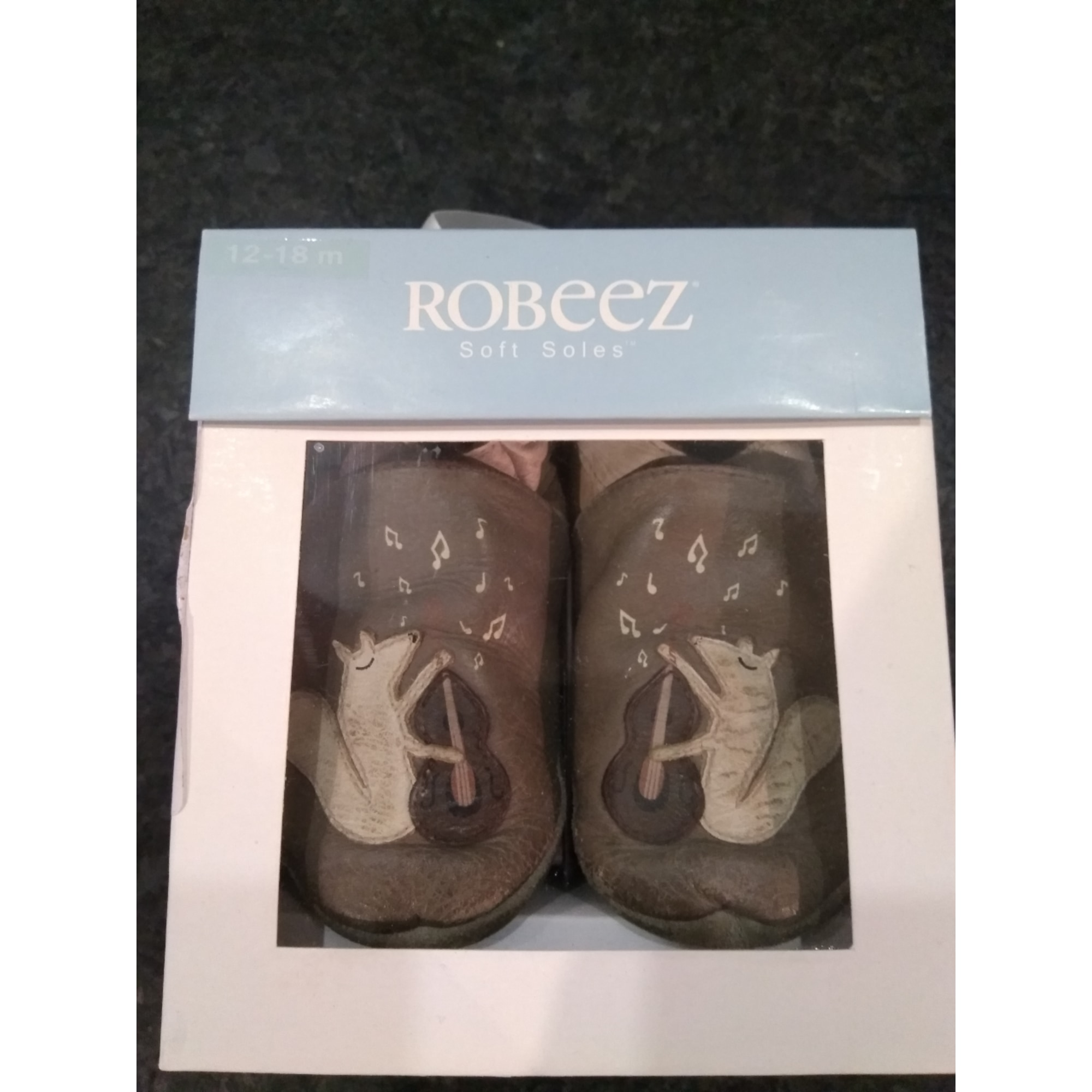 Chaussons ROBEEZ Marron