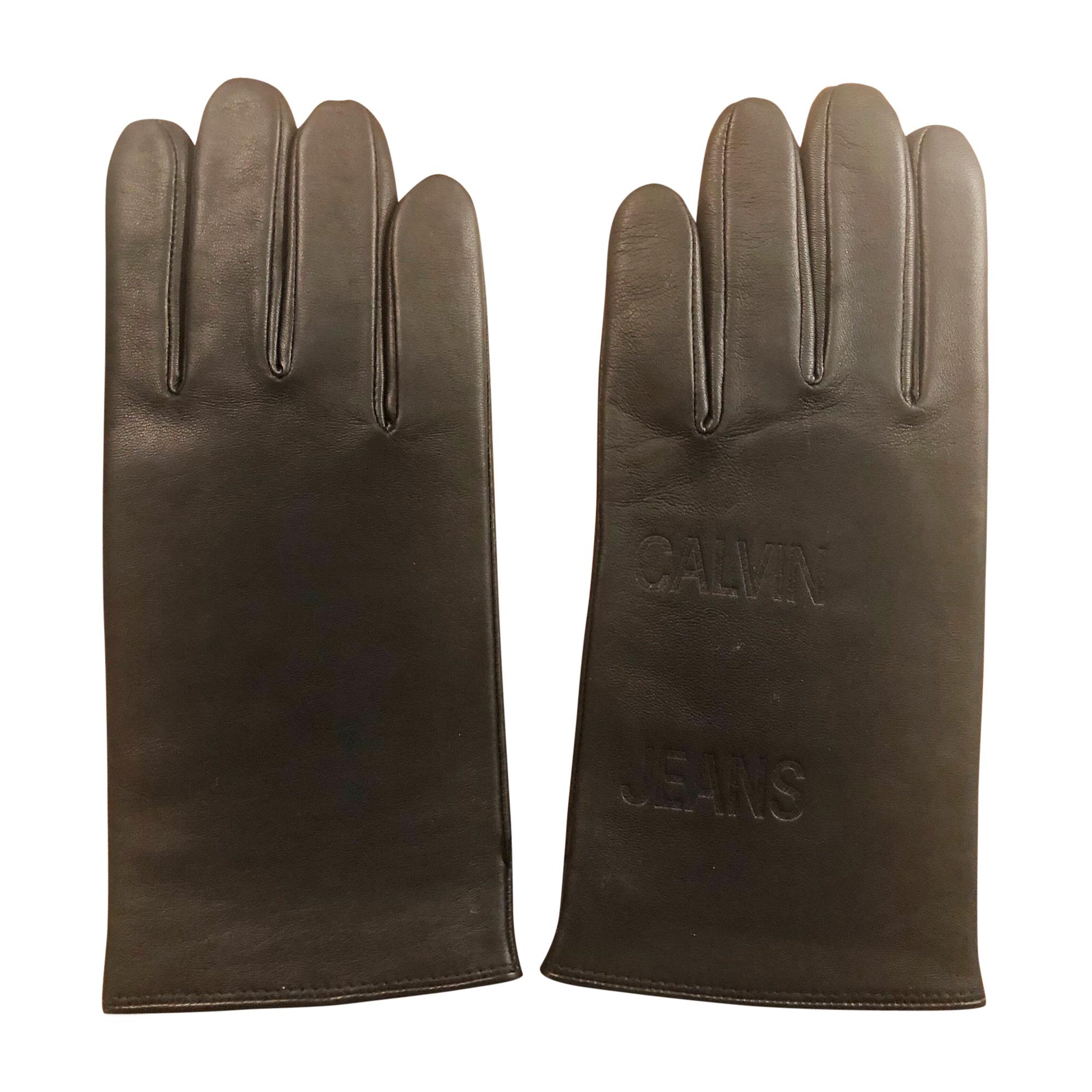 Handschuhe CALVIN KLEIN Schwarz