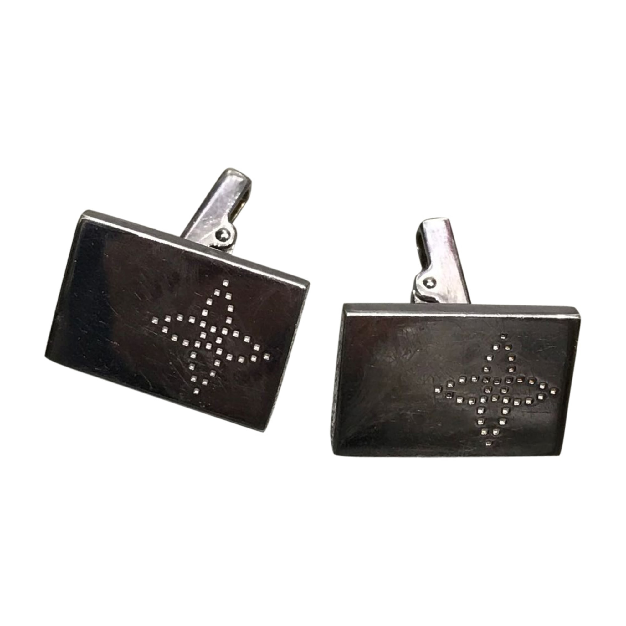 Cufflinks LOUIS VUITTON Silver
