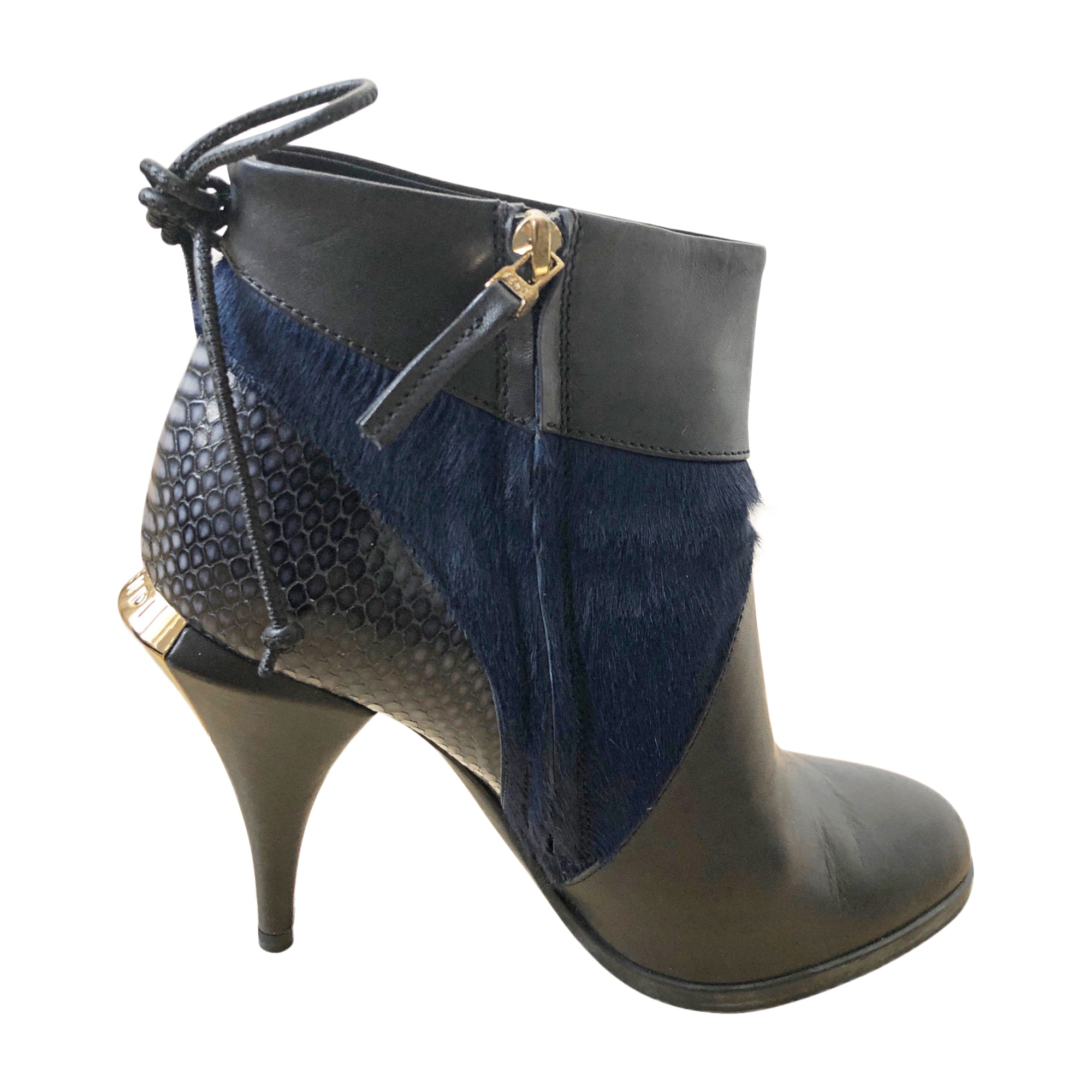 High Heel Ankle Boots FENDI Multicolor