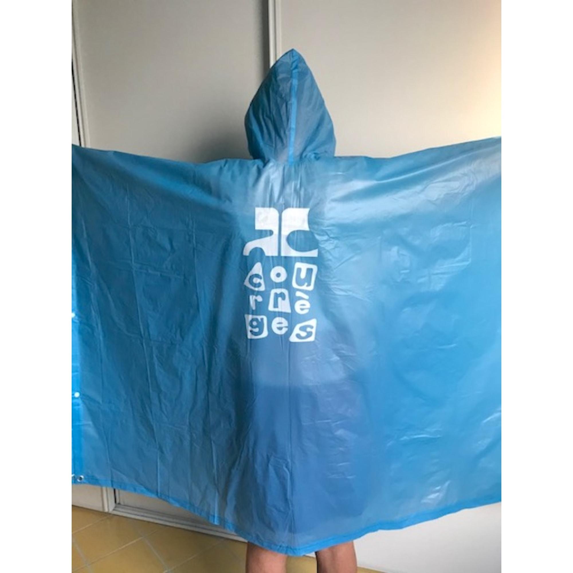 Imperméable, trench COURRÈGES Bleu, bleu marine, bleu turquoise