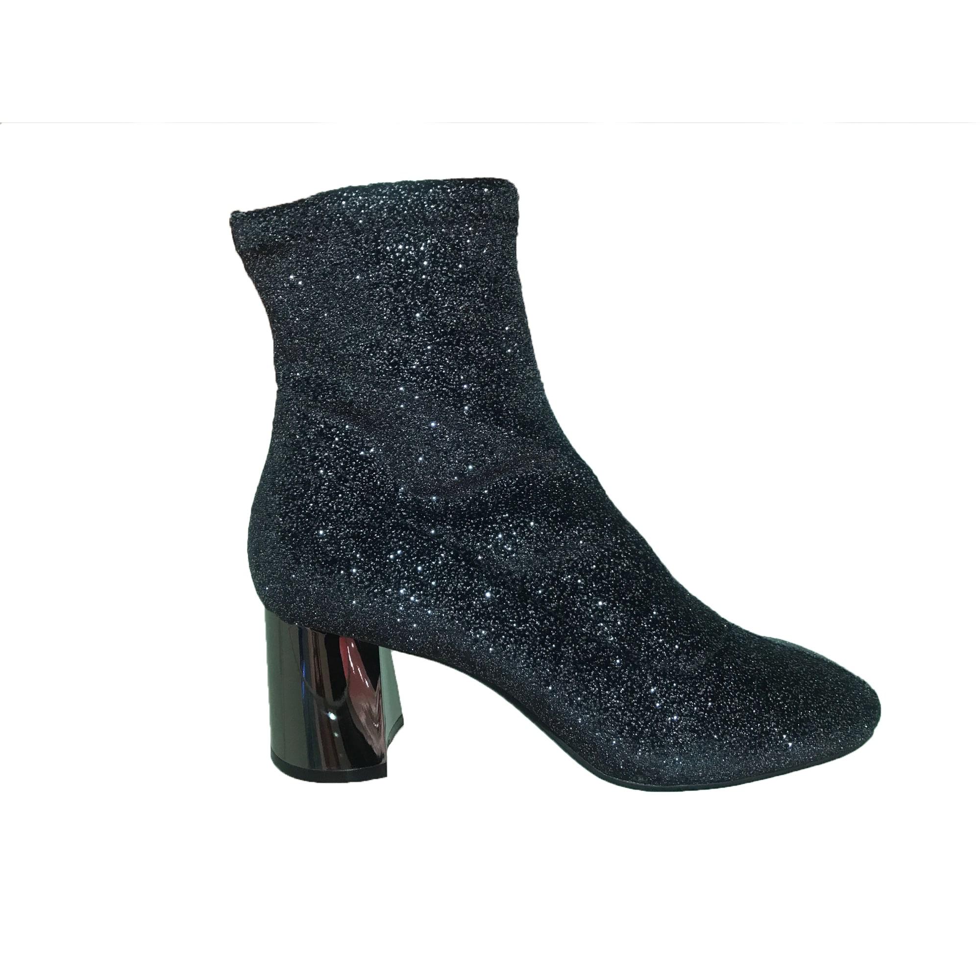 Bottines & low boots à talons LOLA CRUZ Argenté, acier