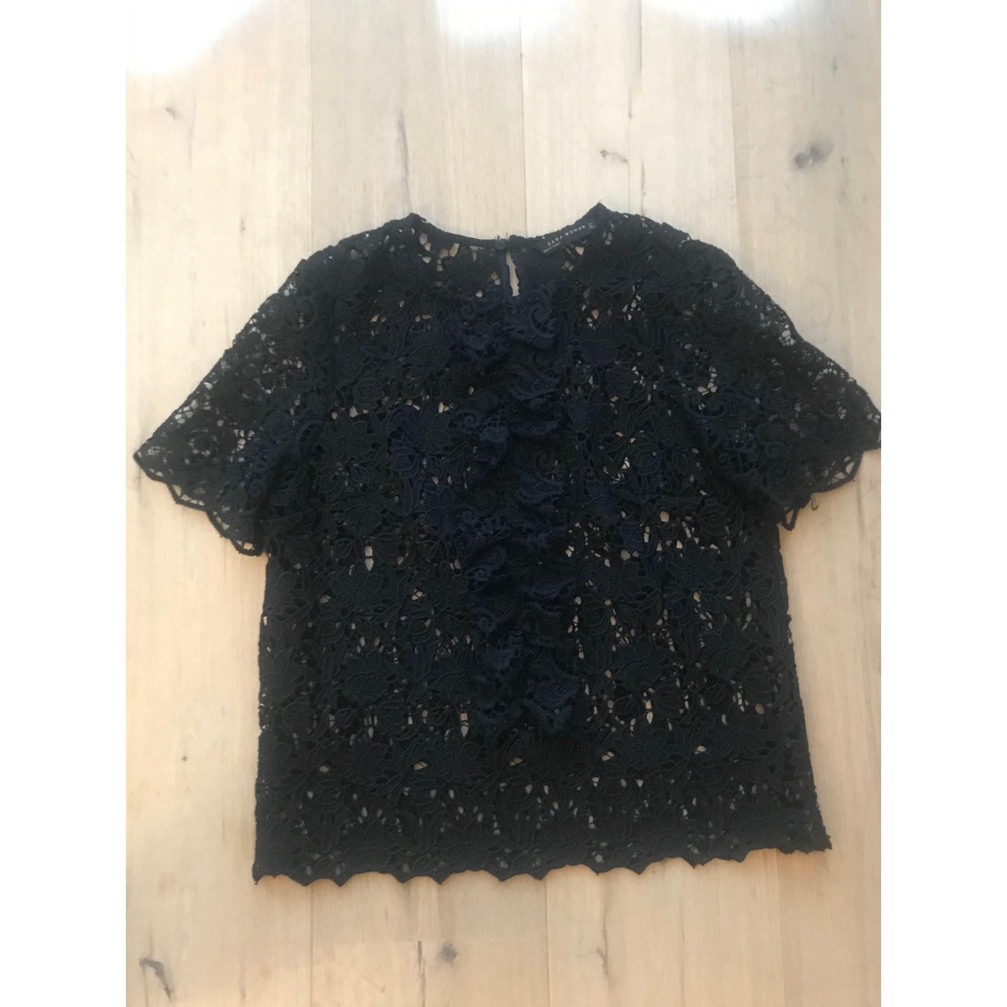 Blouse ZARA Noir