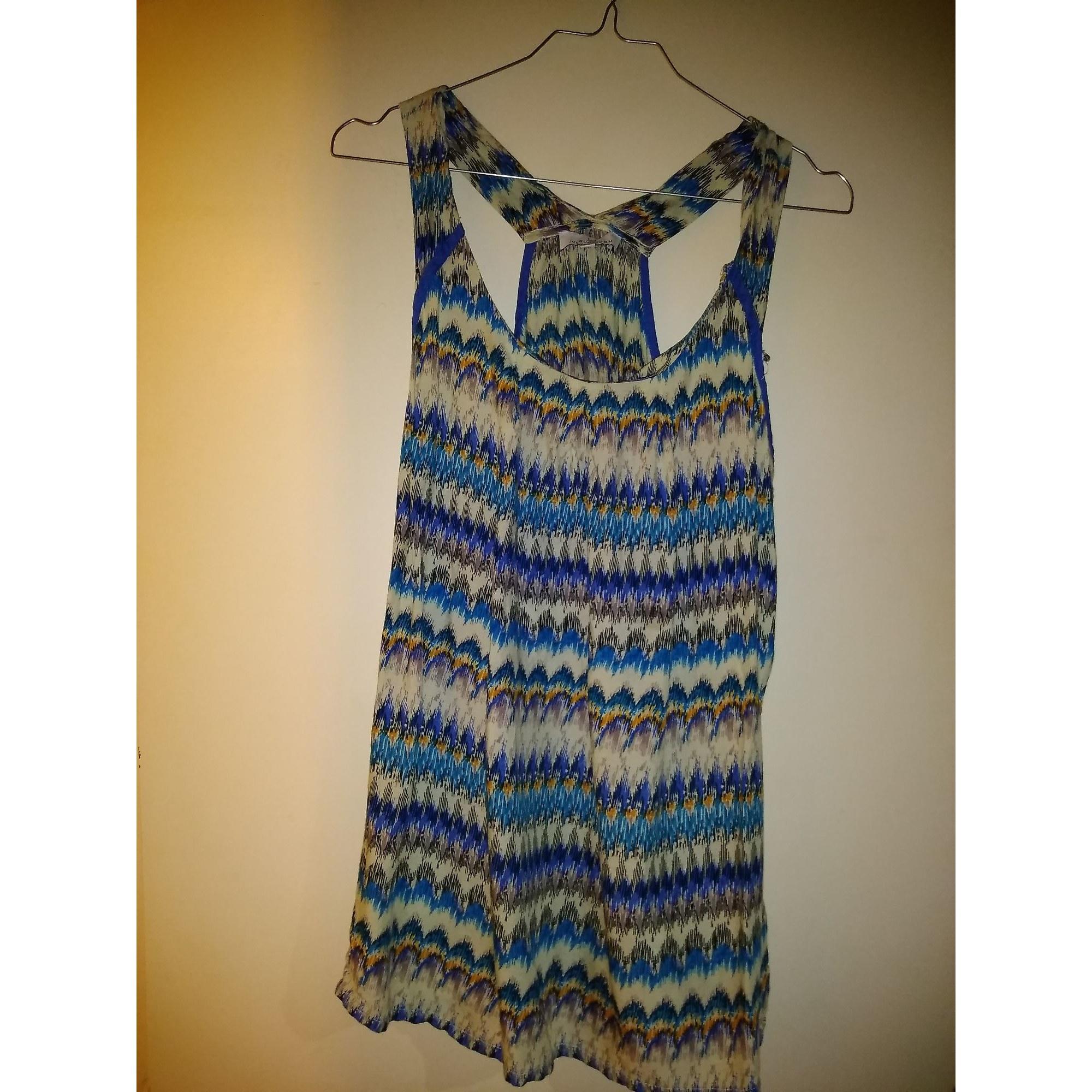 Top, tee-shirt JACQUELINE RIU Bleu, bleu marine, bleu turquoise