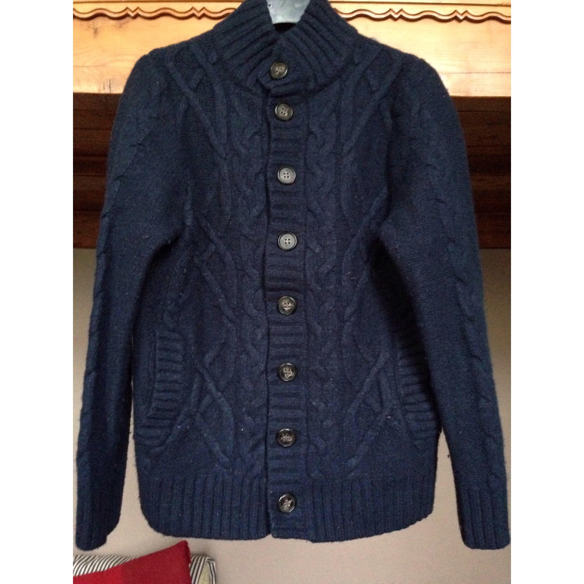 Gilet, cardigan GALERIES LAFAYETTE Bleu, bleu marine, bleu turquoise