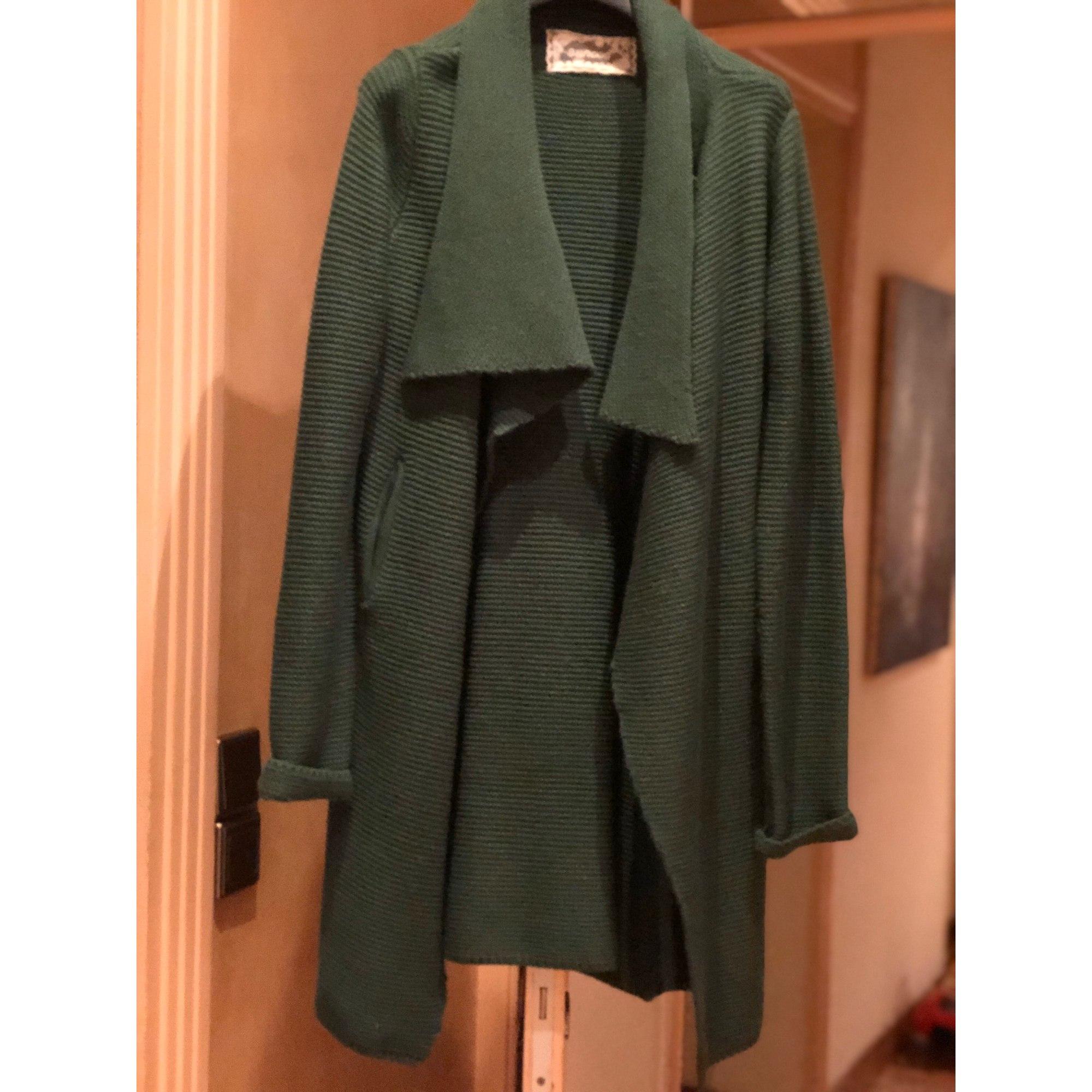 Gilet, cardigan SUNCOO Vert