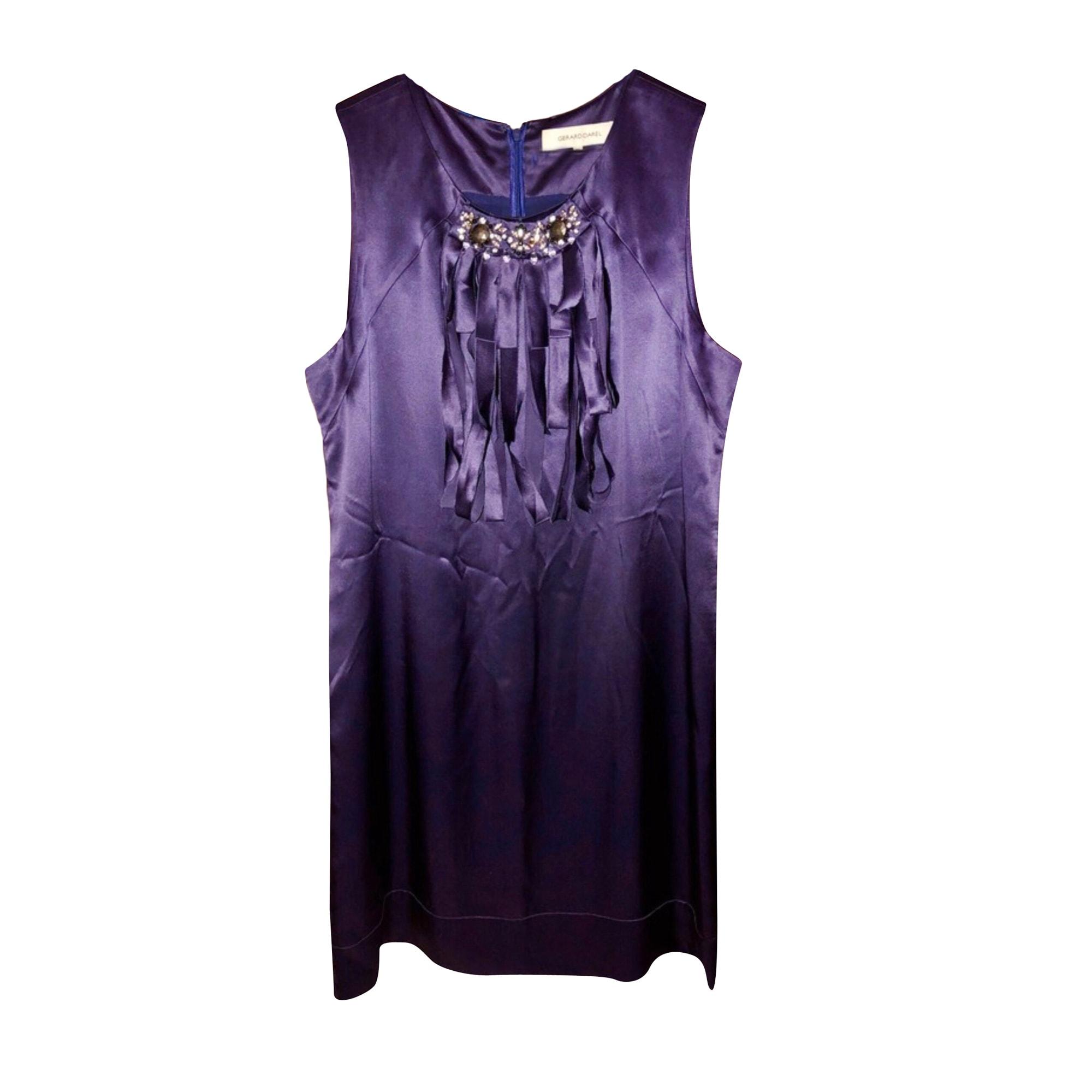 Robe courte GERARD DAREL Violet, mauve, lavande