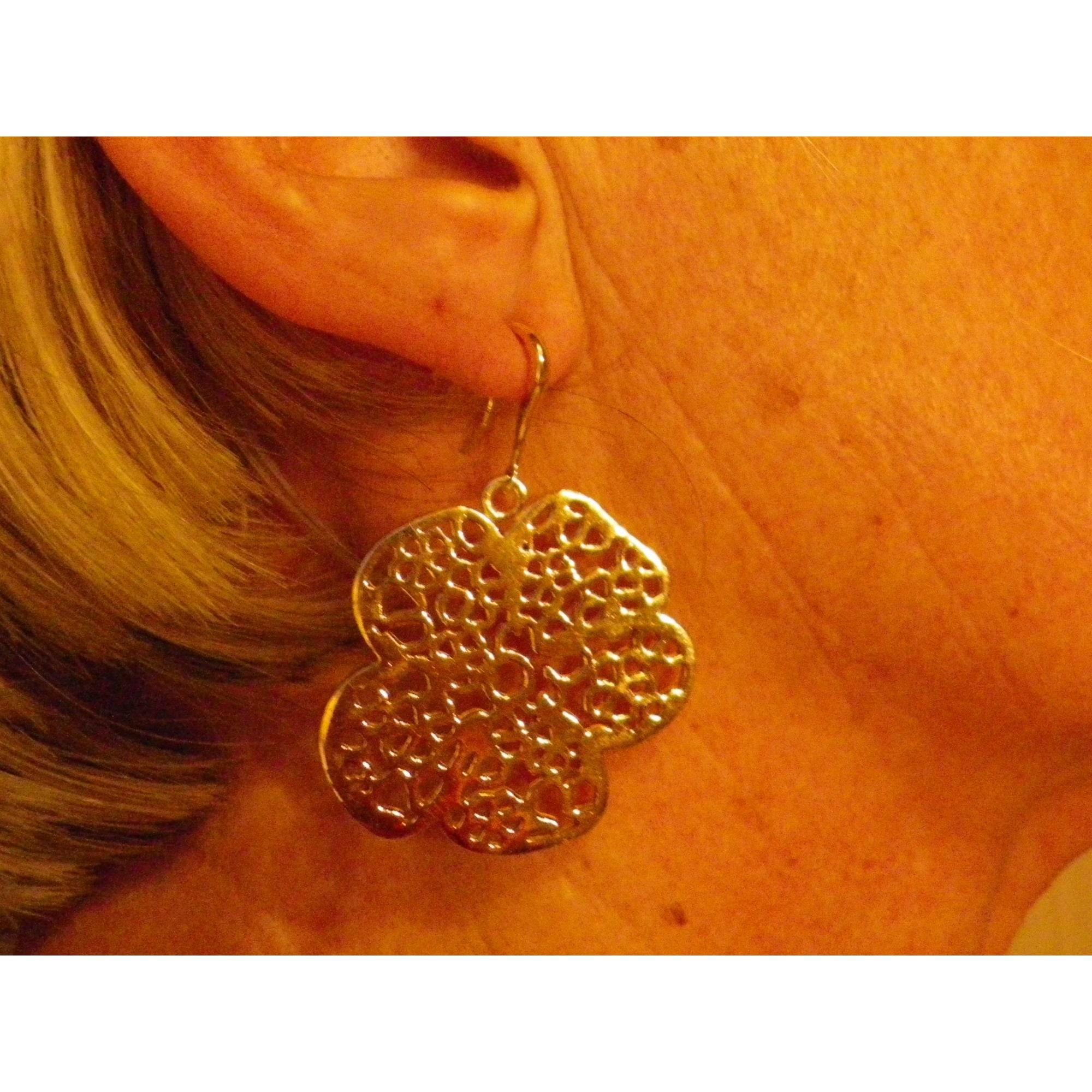 Boucles d'oreille LOLITA LEMPICKA Doré, bronze, cuivre