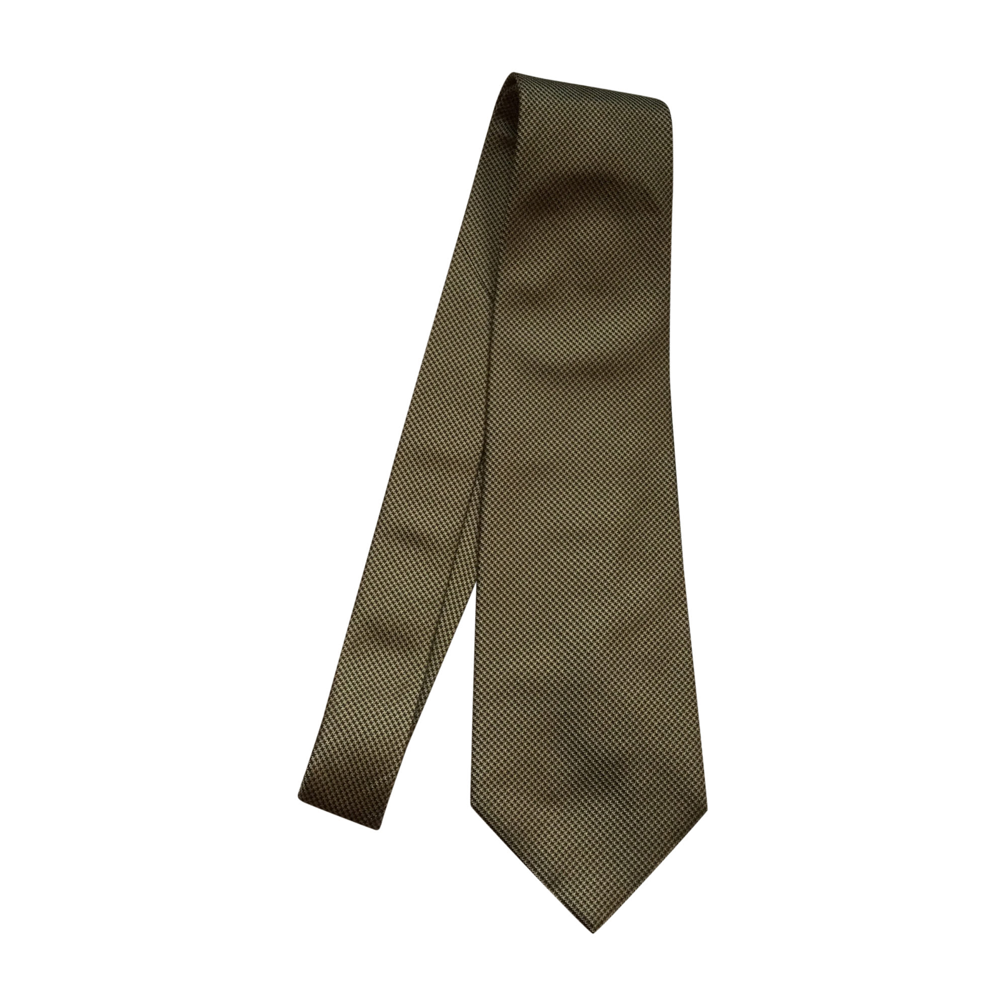 Cravate DIOR Doré, bronze, cuivre