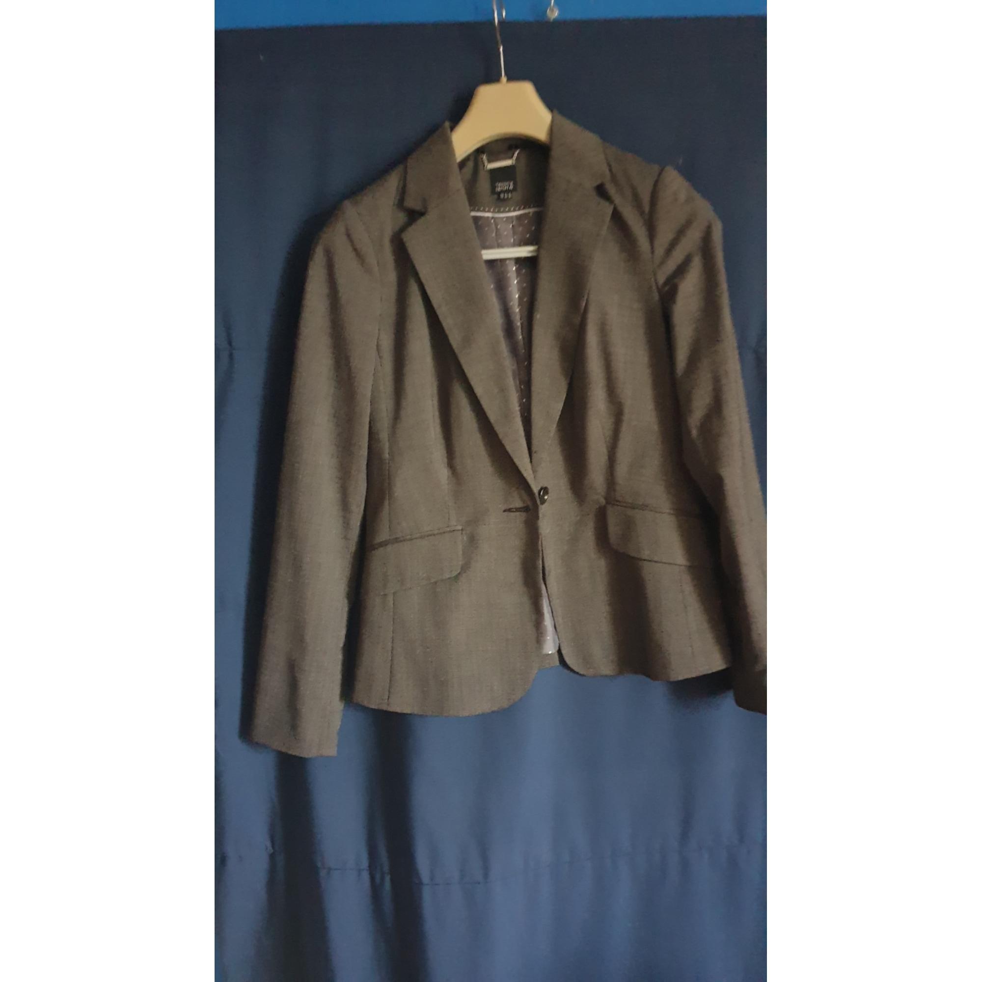 Blazer, veste tailleur YESSICA Gris, anthracite
