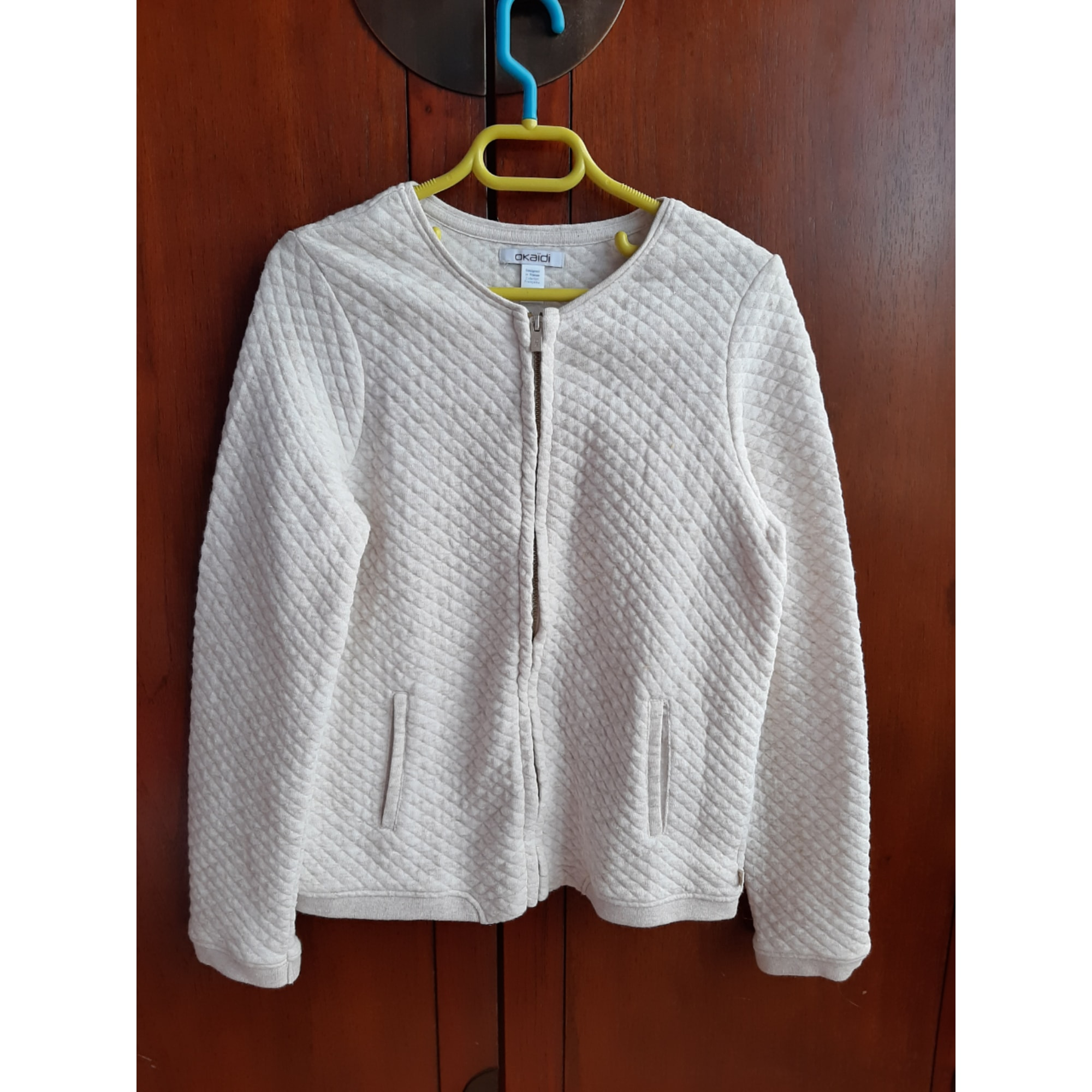 Veste OKAÏDI Blanc, blanc cassé, écru