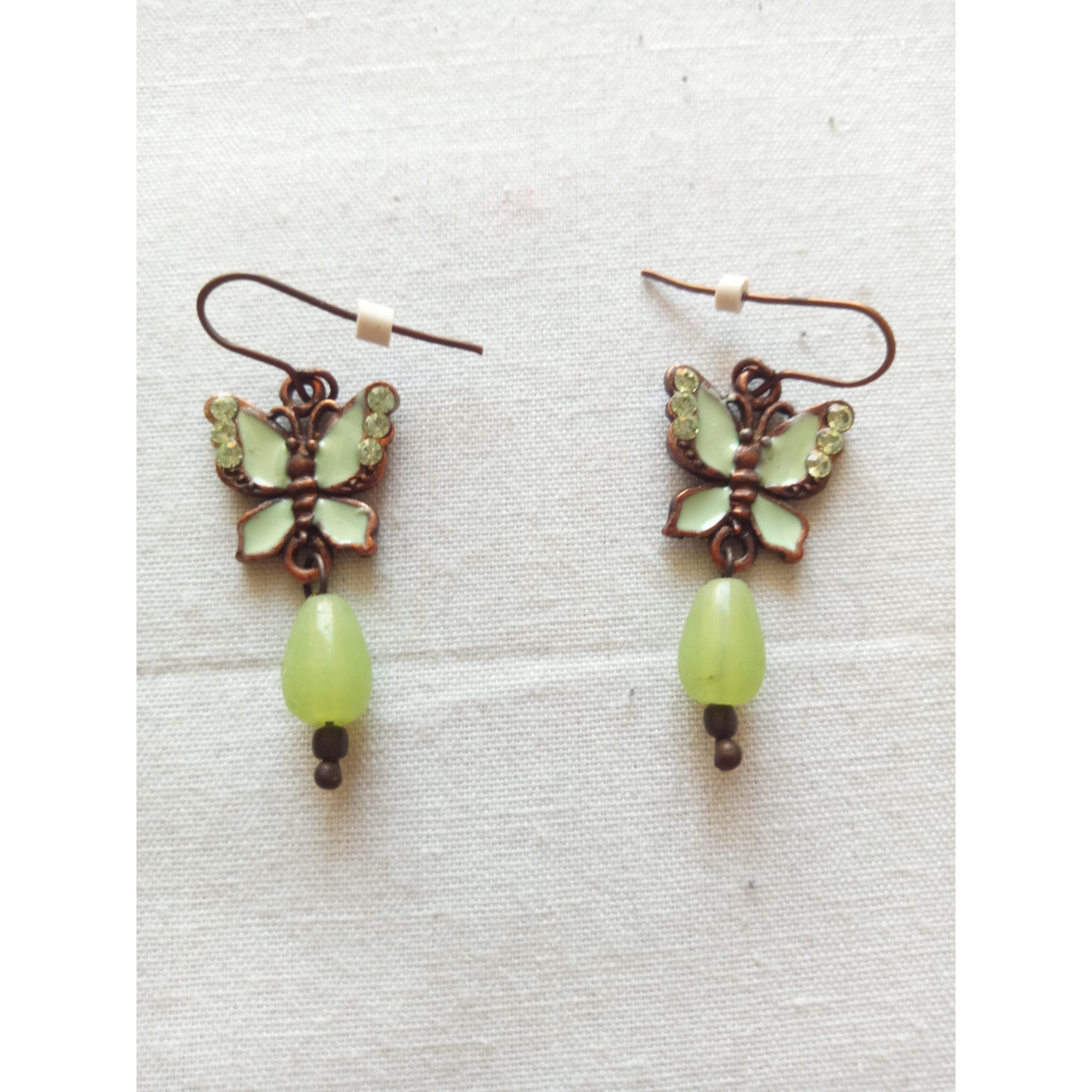 Earrings MARQUE INCONNUE Green
