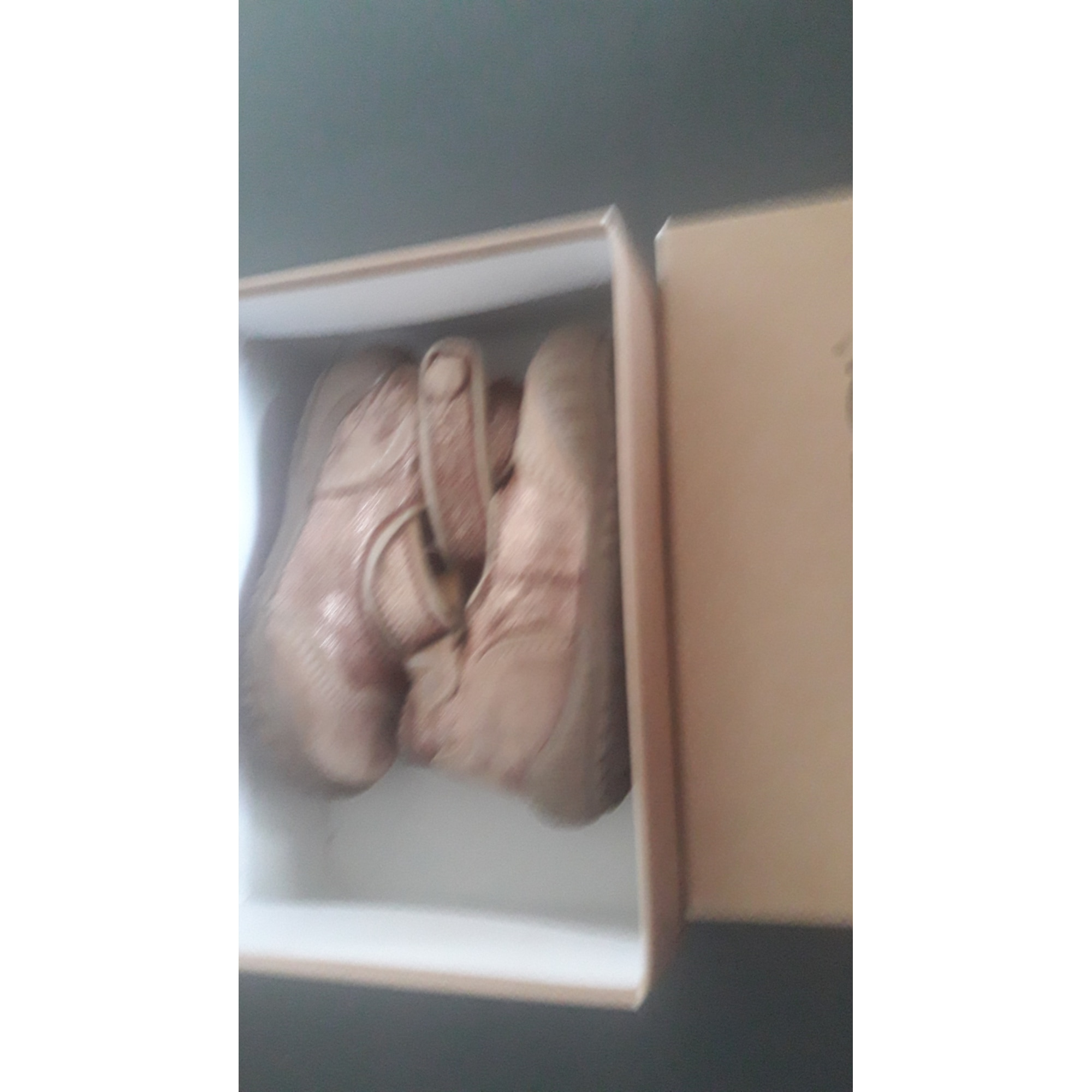 Chaussures à scratch IKKS Rose, fuschia, vieux rose