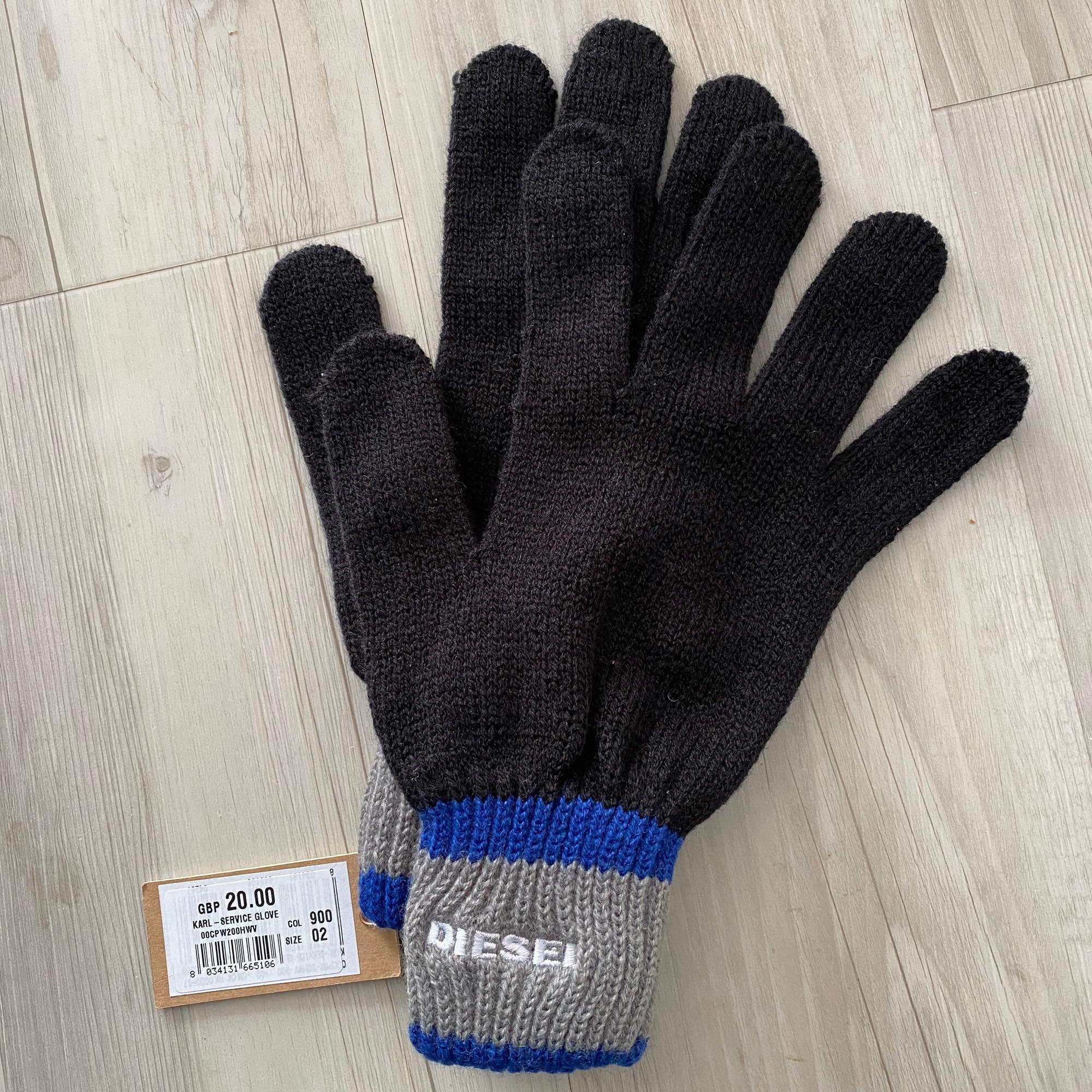 Handschuhe DIESEL Schwarz