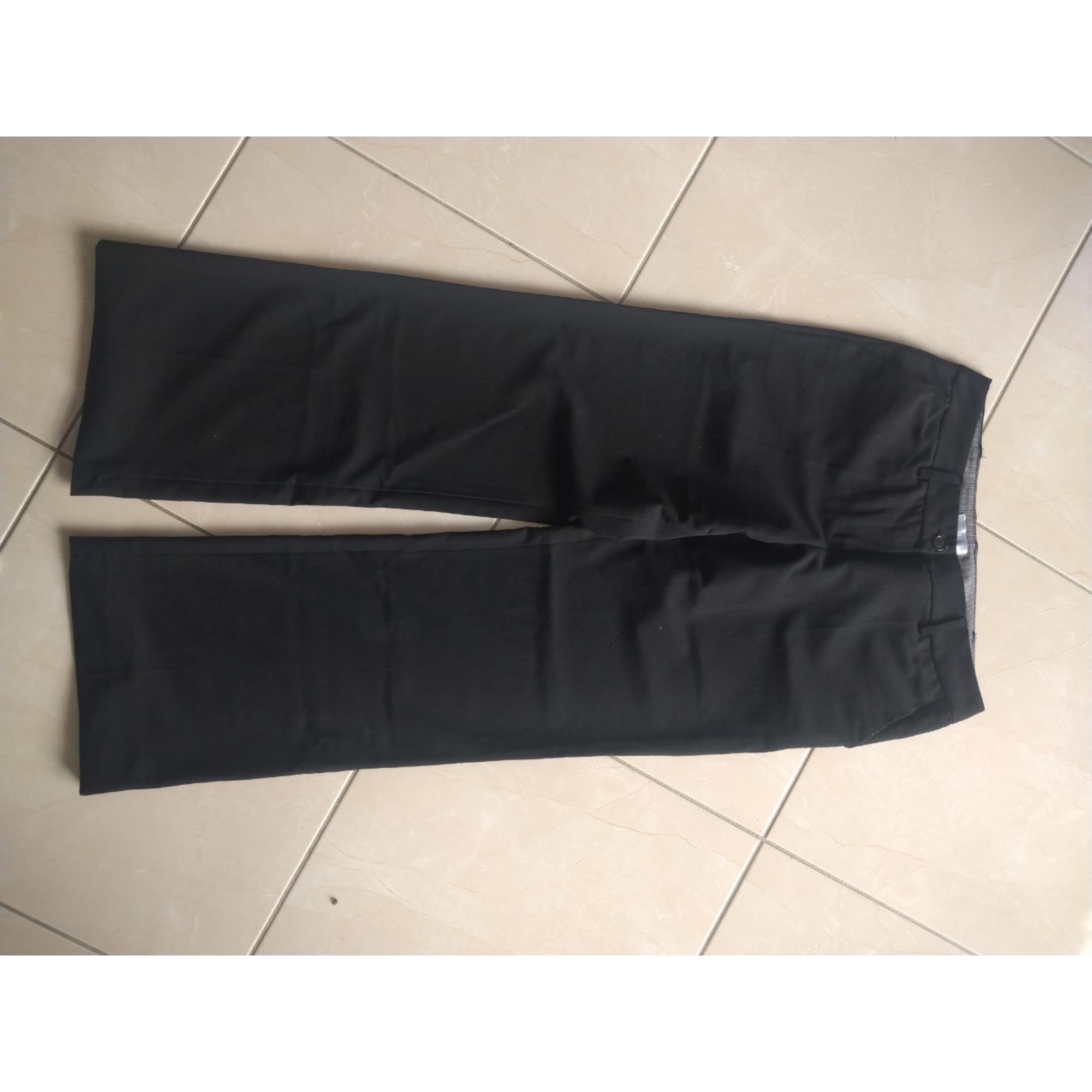 Pantalon évasé CACHE CACHE Noir