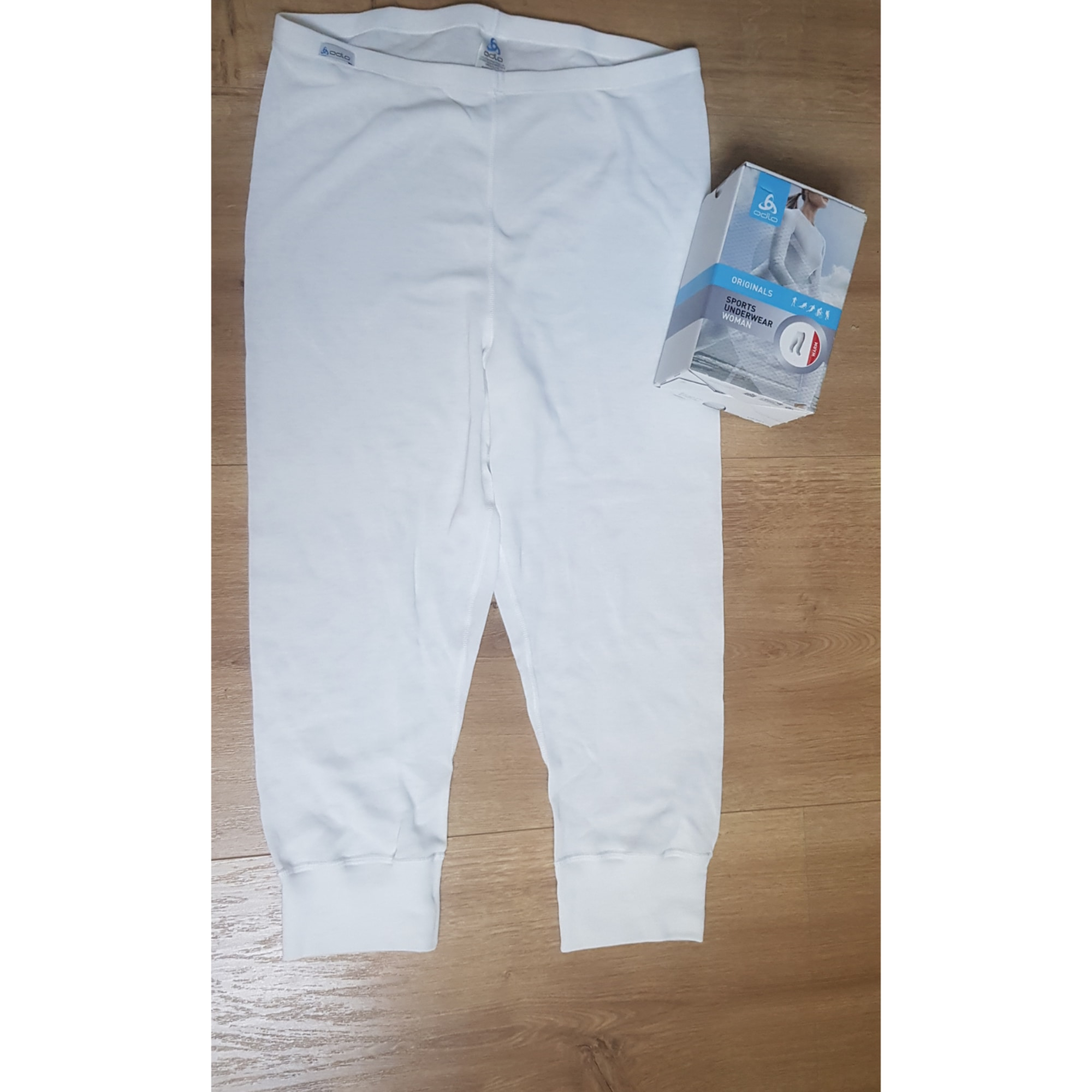 Pantalon de ski ODLO Blanc, blanc cassé, écru