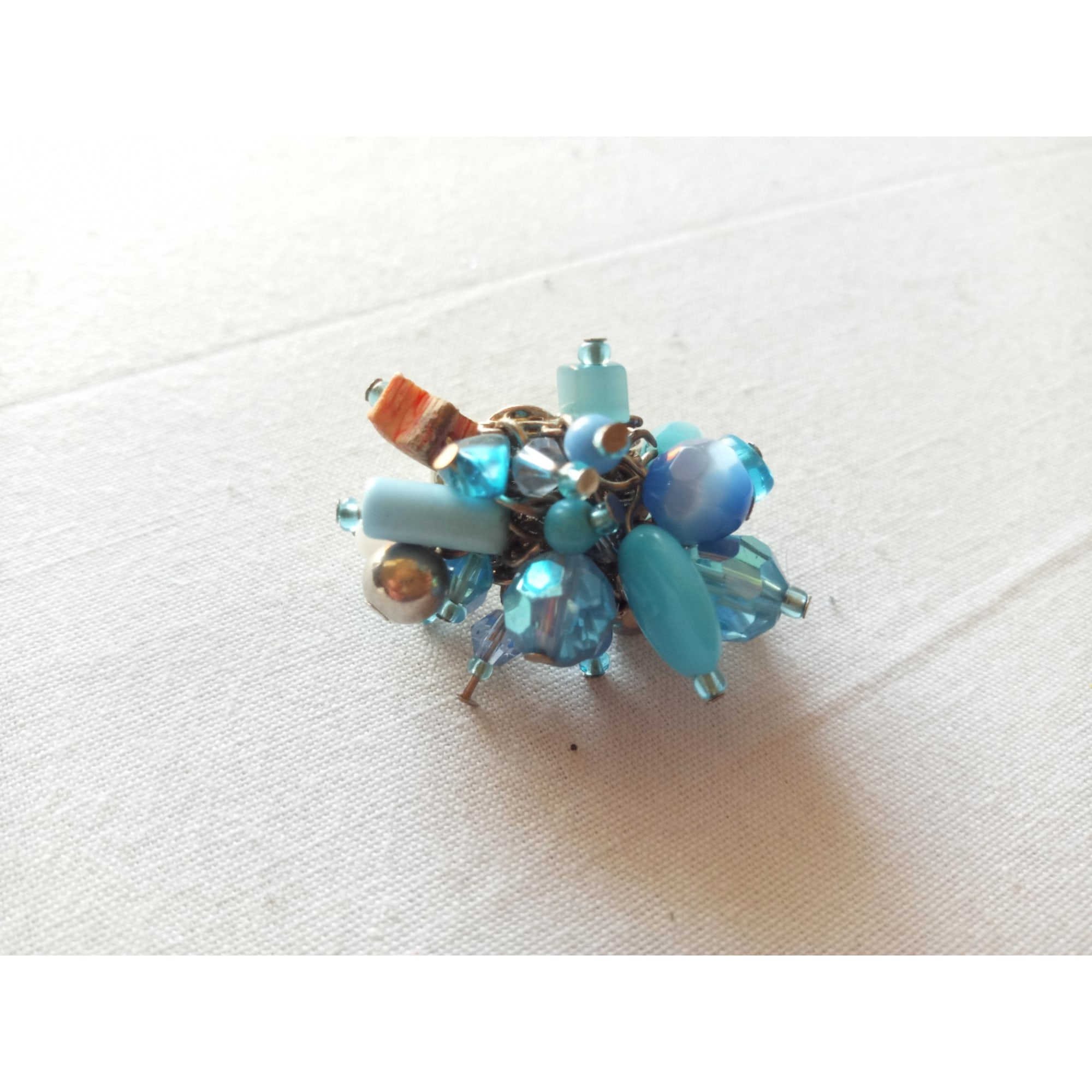 Ring MARQUE INCONNUE Blue, navy, turquoise
