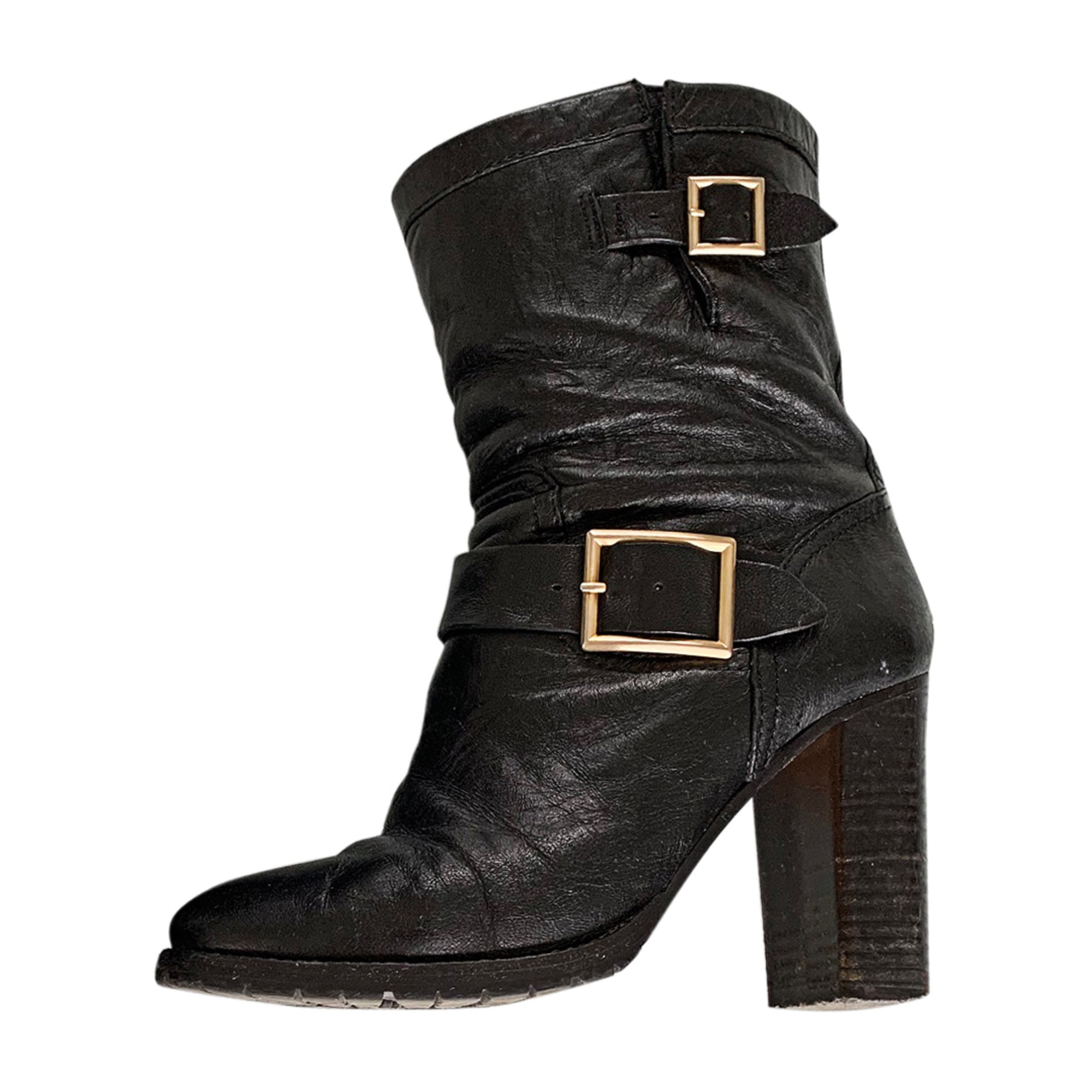 Bottines & low boots à talons JIMMY CHOO Noir