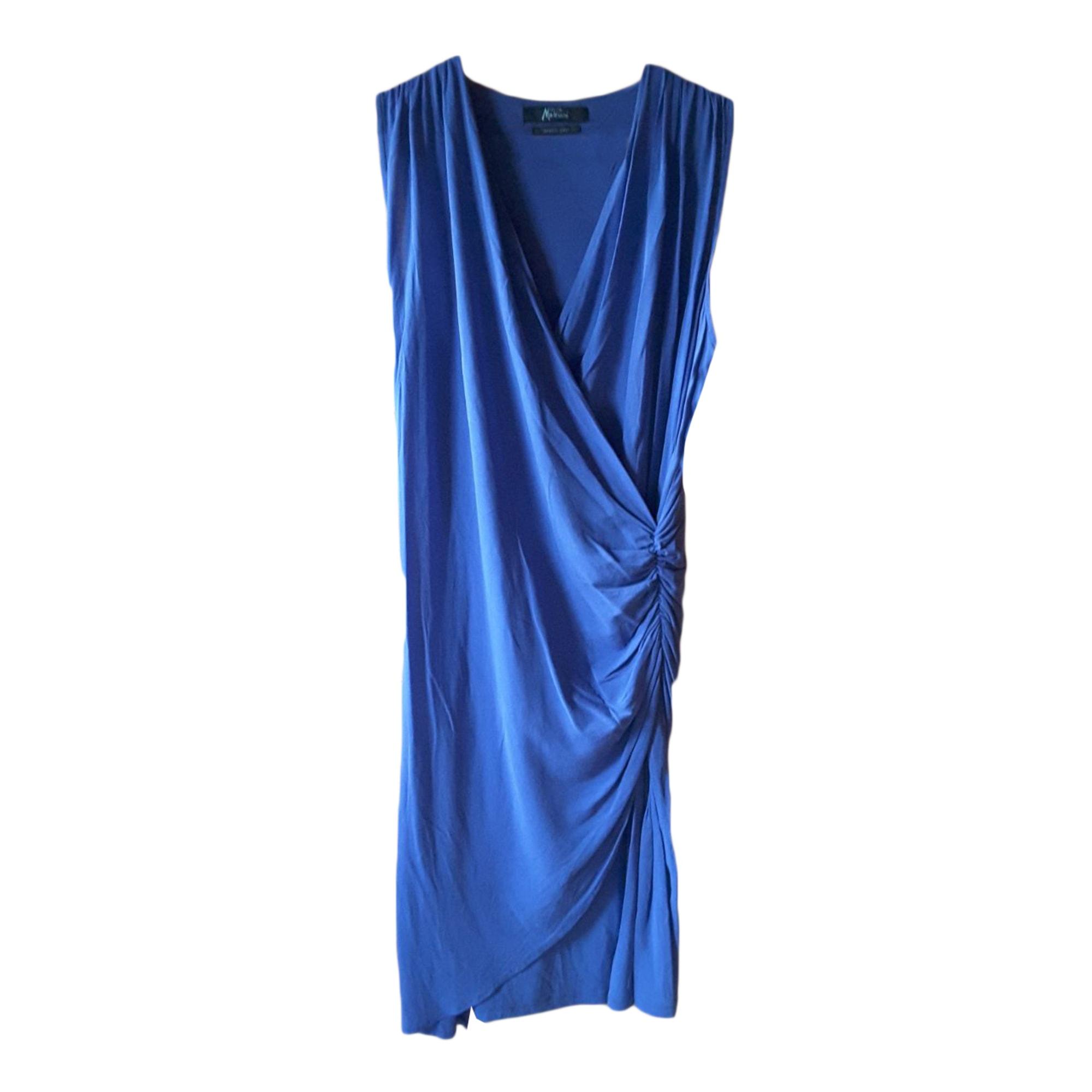 Robe mi-longue GUESS Bleu, bleu marine, bleu turquoise