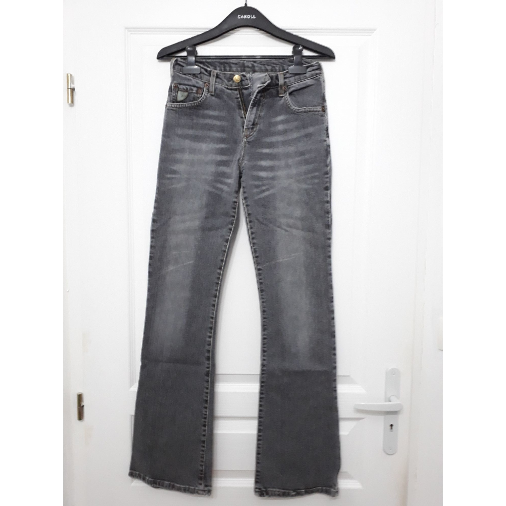 Jeans évasé, boot-cut LOIS Noir