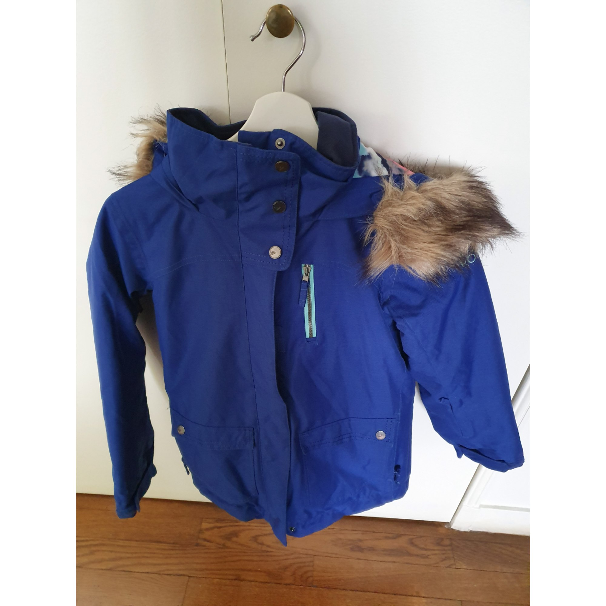 Blouson de ski ROXY Bleu, bleu marine, bleu turquoise