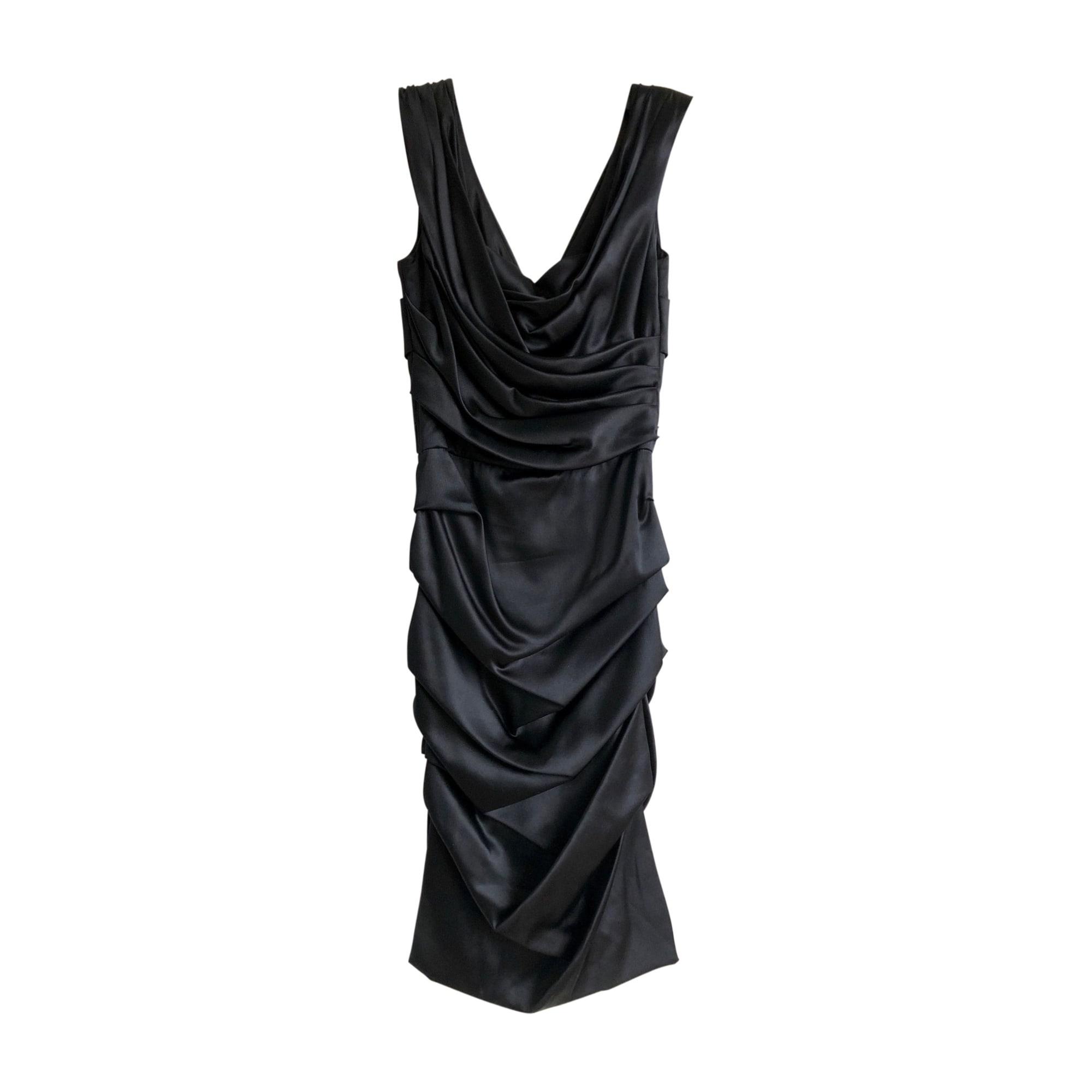 Robe courte DOLCE & GABBANA Noir