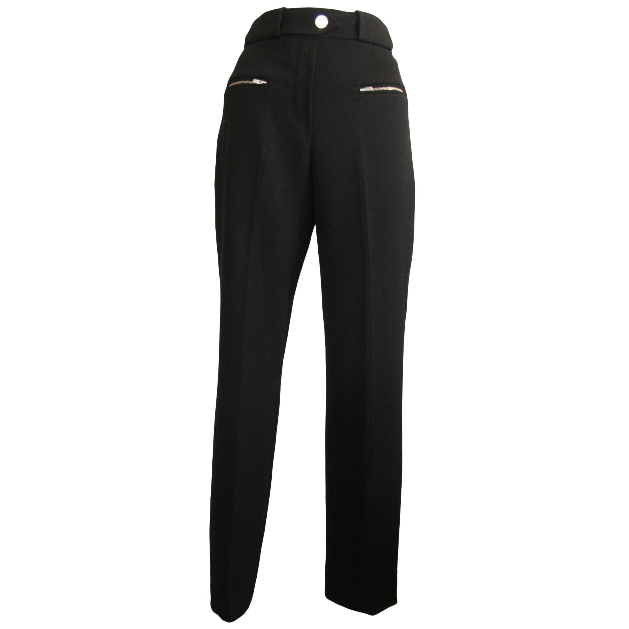 Pantalon droit MAJE Noir