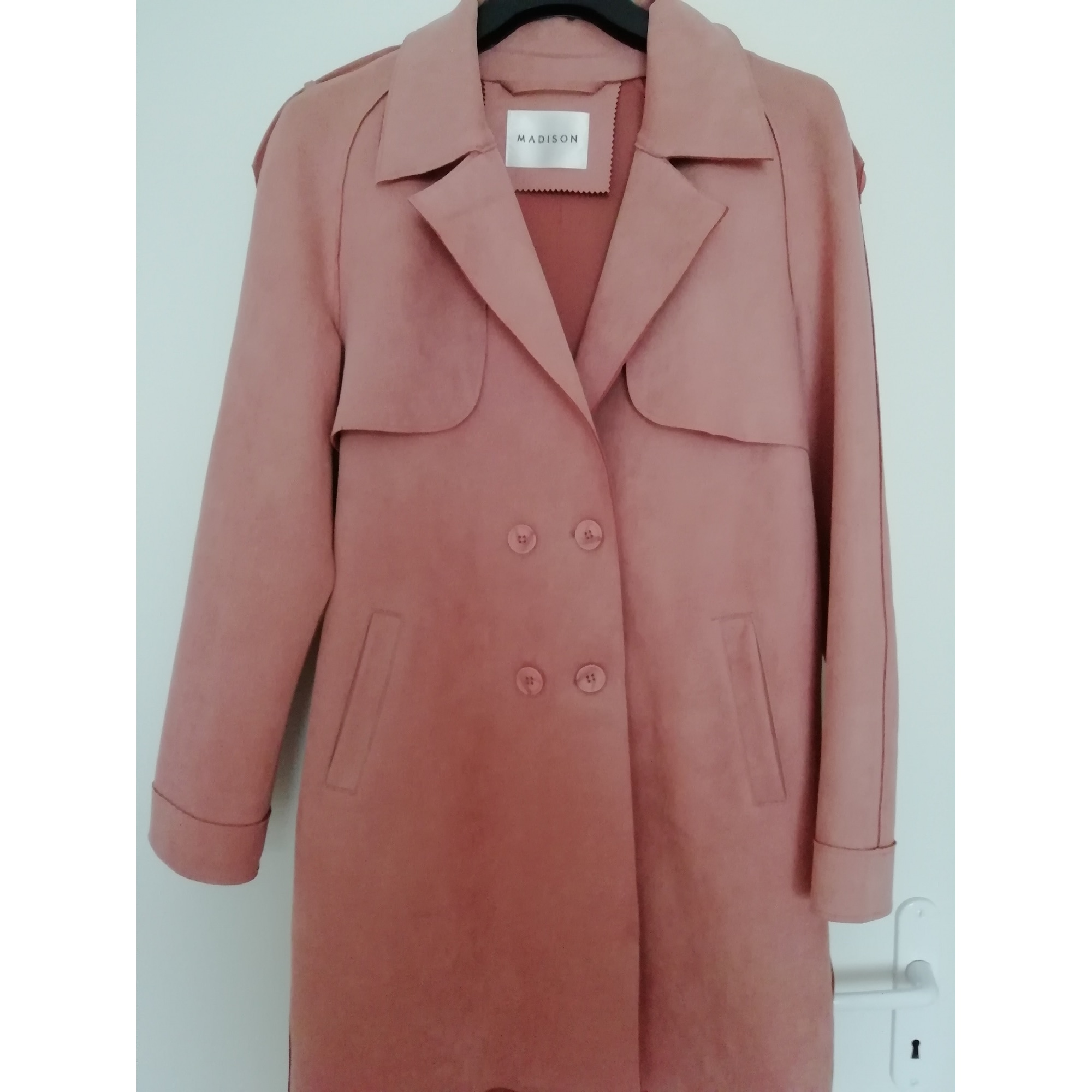 Imperméable, trench MADISON Rose, fuschia, vieux rose