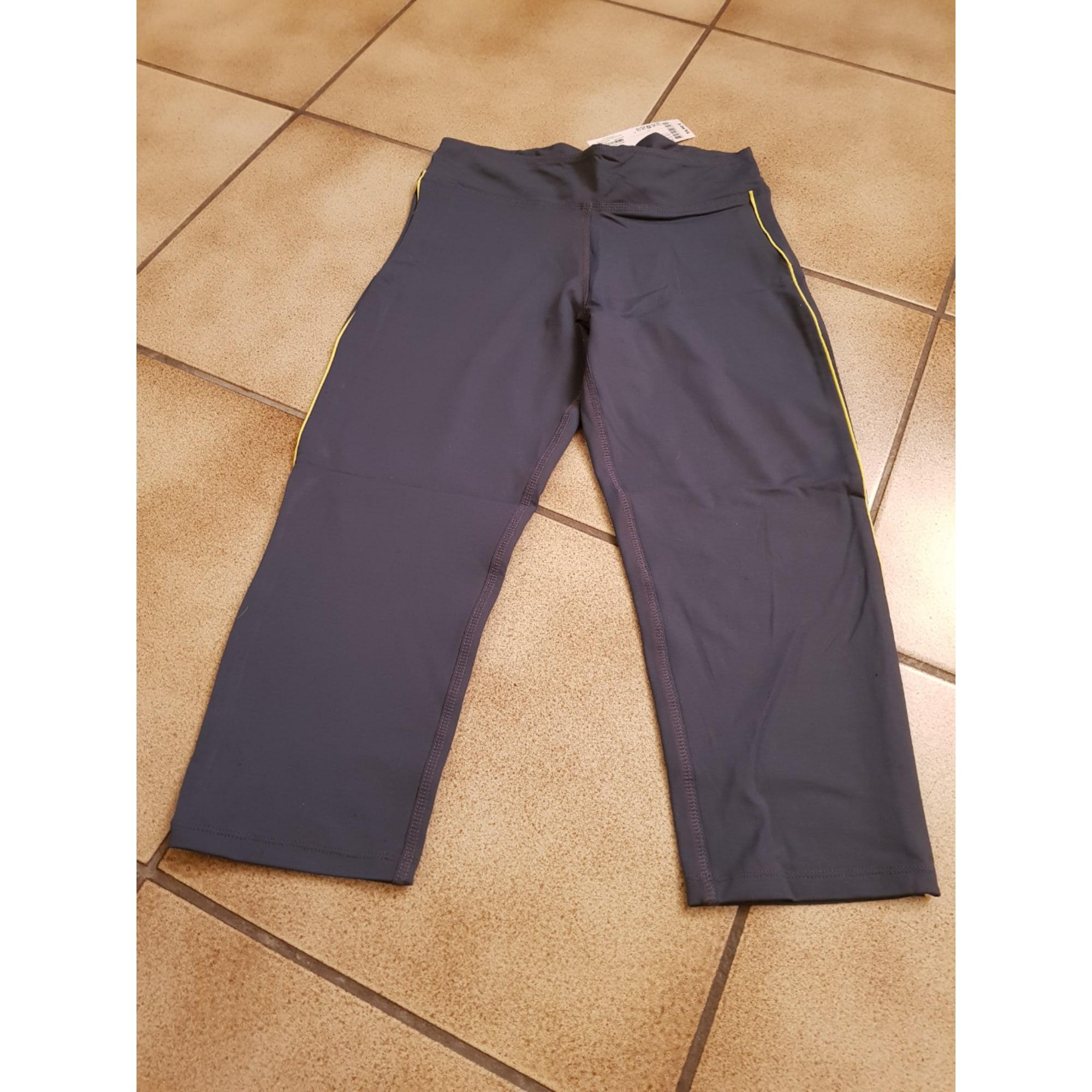 Pantalon de fitness MONOPRIX Gris, anthracite