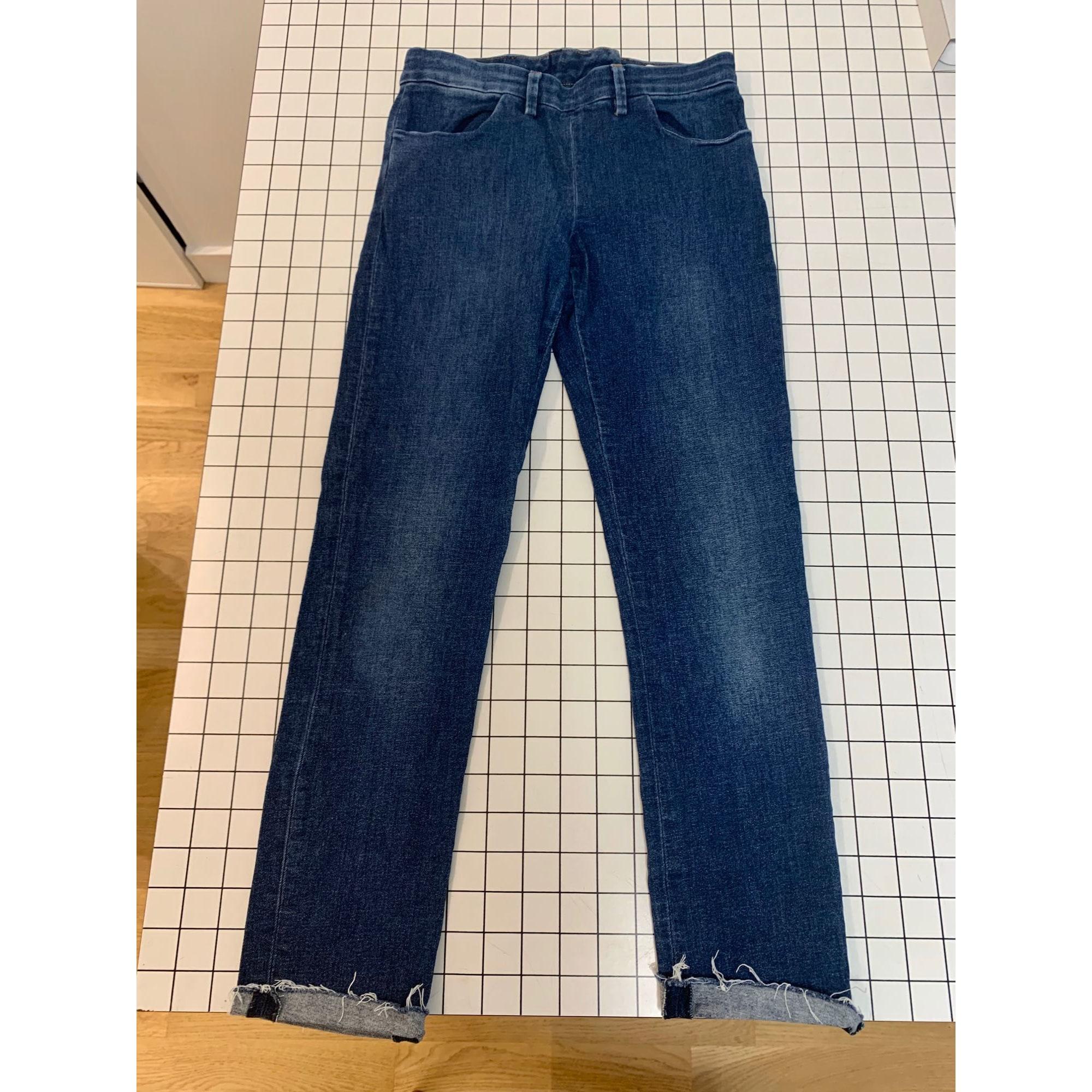Jeans slim ACNE Bleu, bleu marine, bleu turquoise
