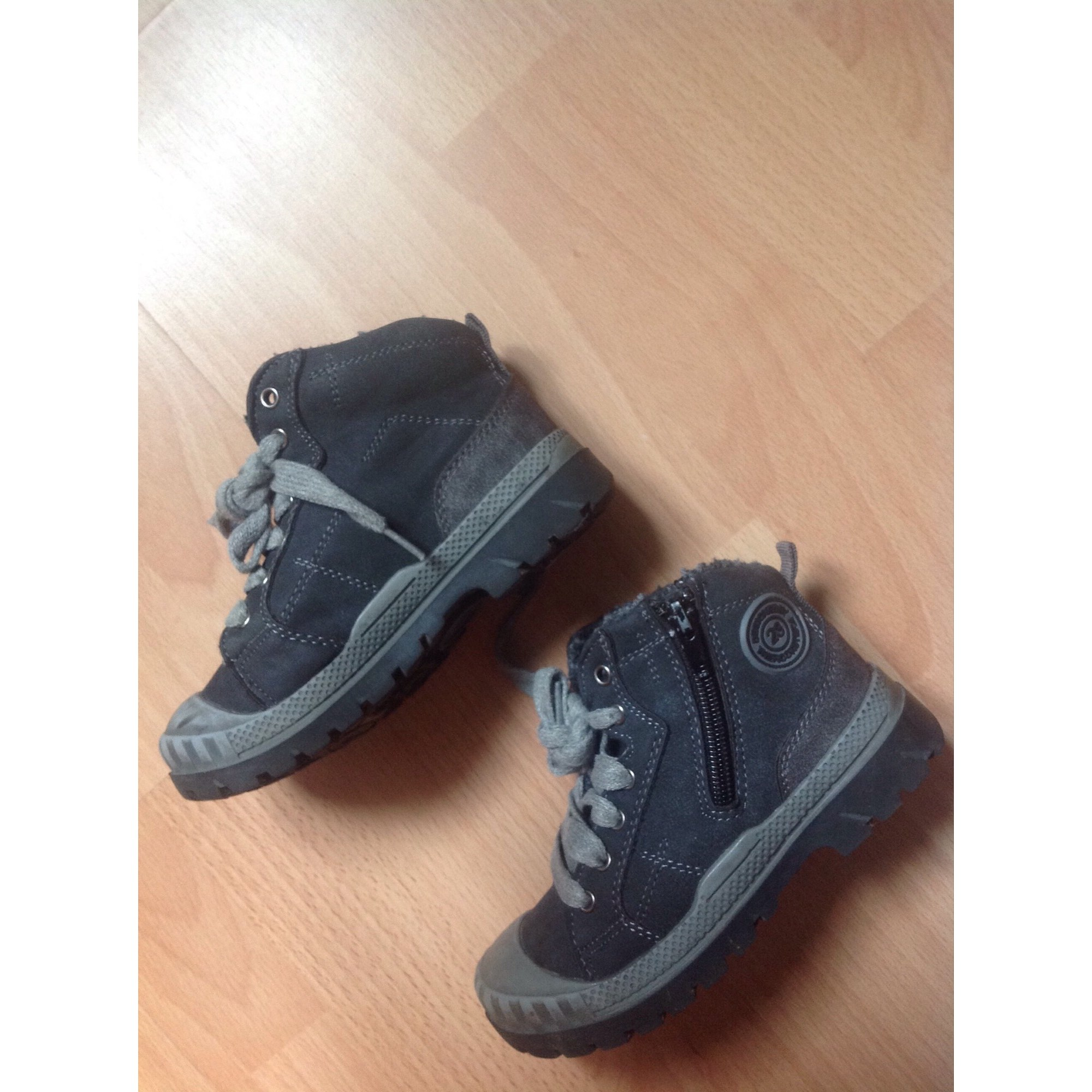 Ankle Boots GÉMO Gray, charcoal