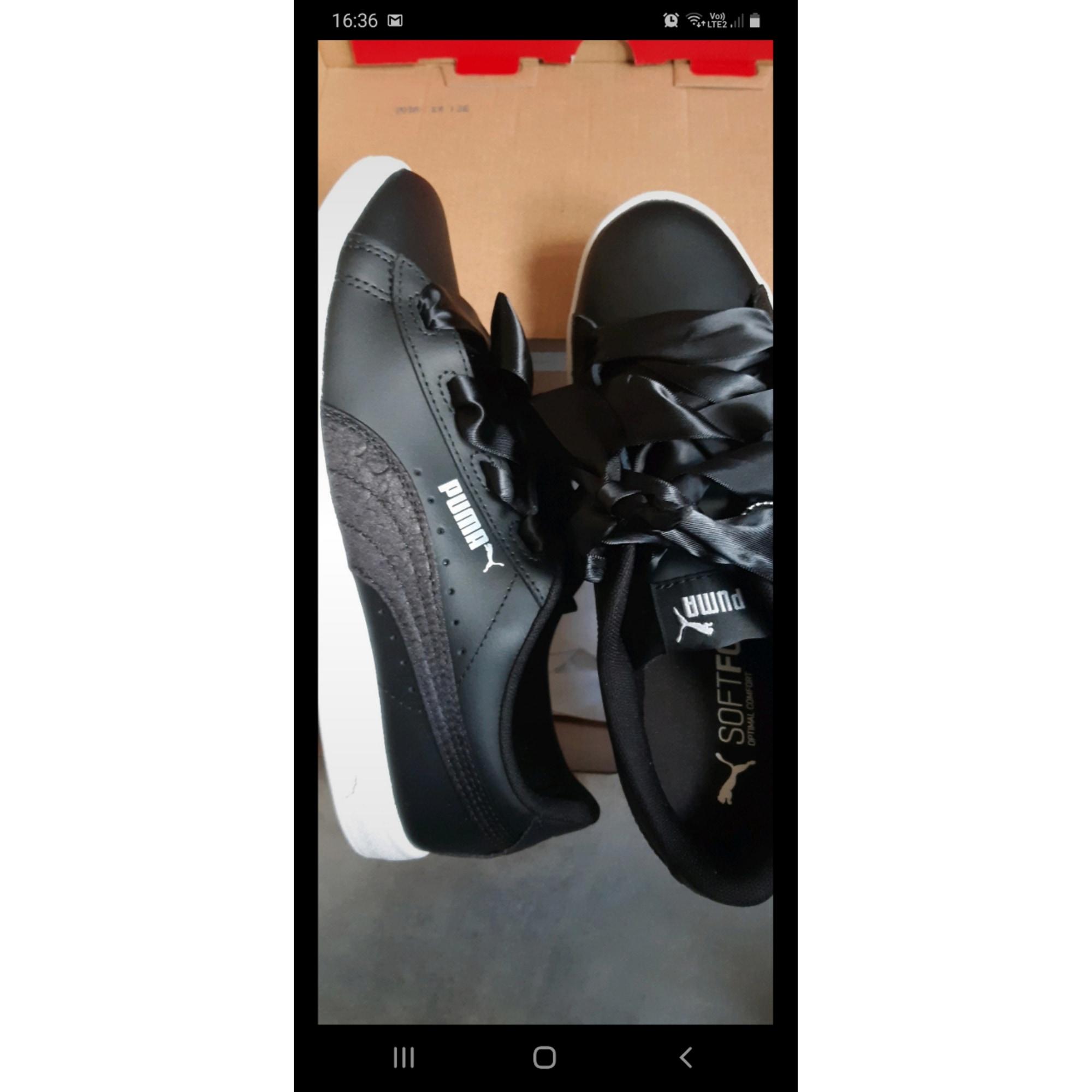 Chaussures à lacets  PUMA Noir